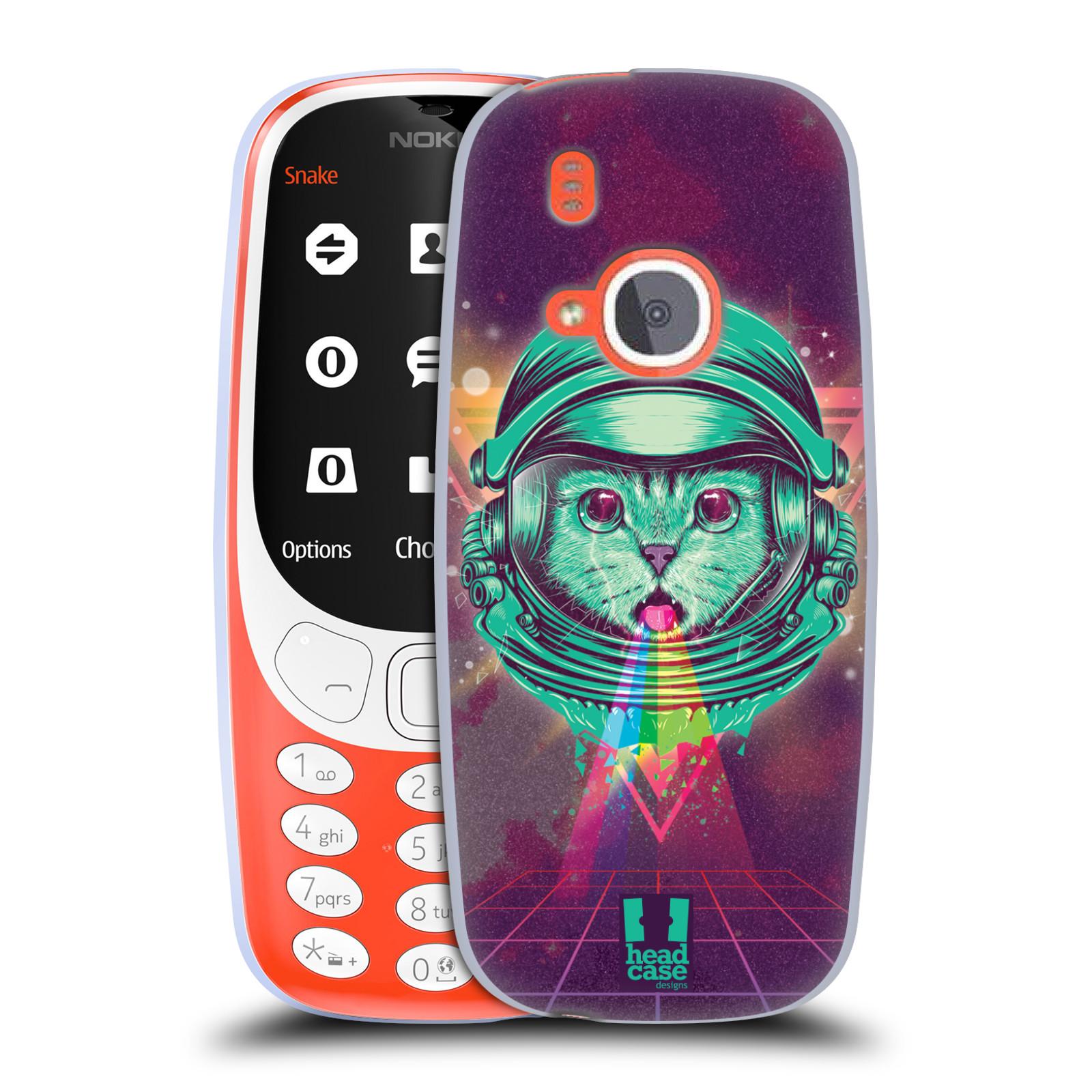 Silikonové pouzdro na mobil Nokia 3310 - Head Case - Kóča ve skafandru