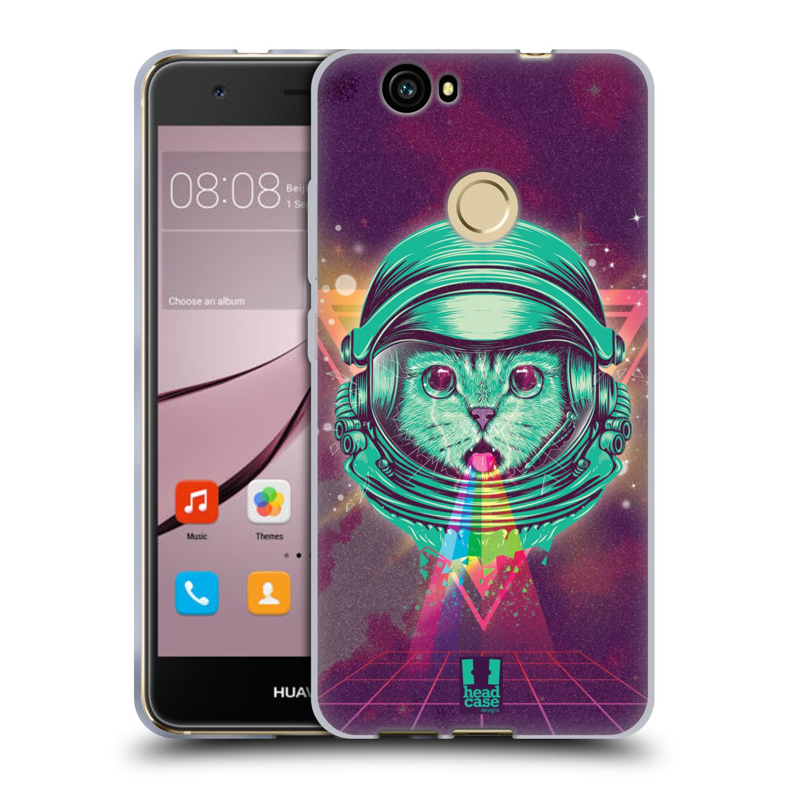 Silikonové pouzdro na mobil Huawei Nova - Head Case - Kóča ve skafandru
