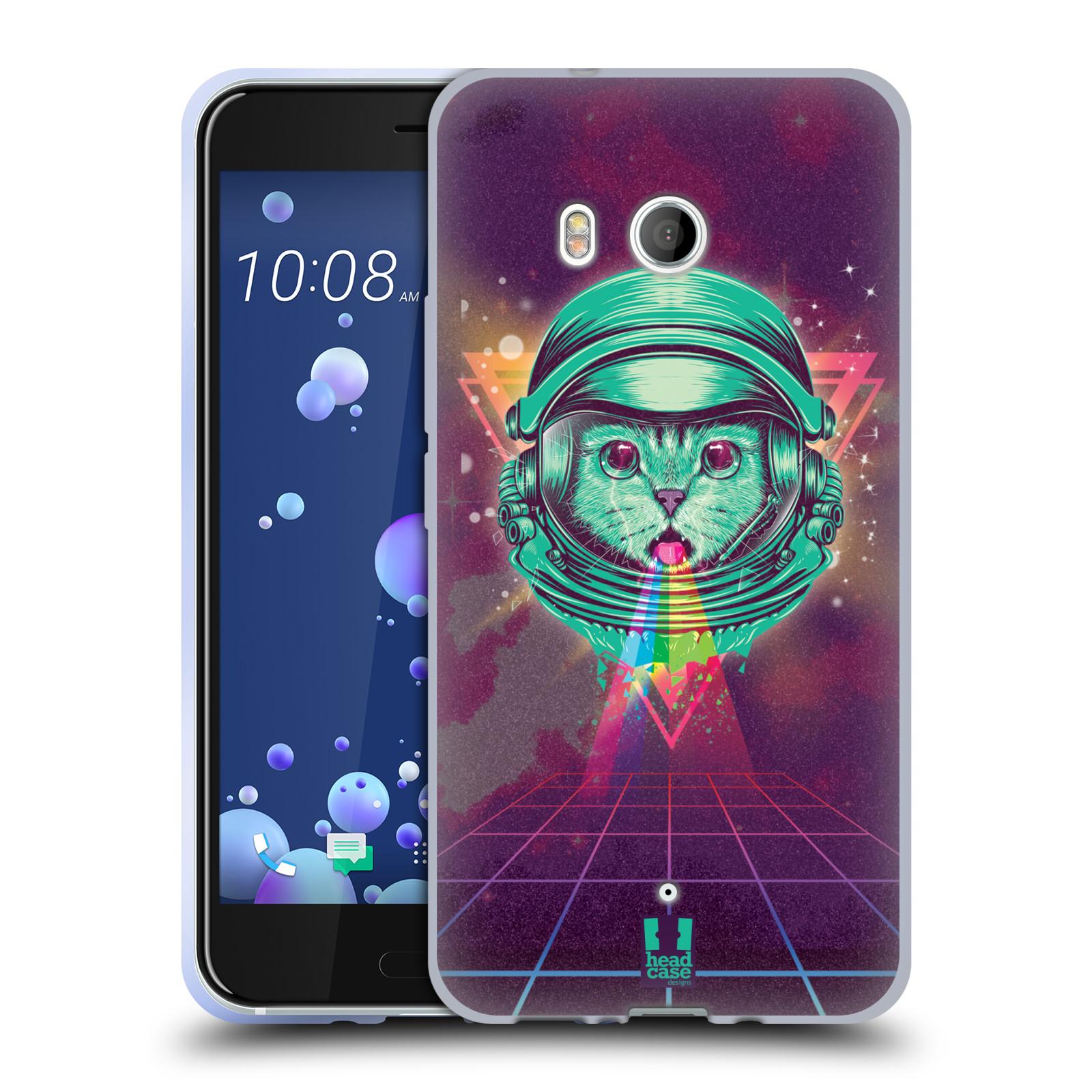 Silikonové pouzdro na mobil HTC U11 - Head Case - Kóča ve skafandru