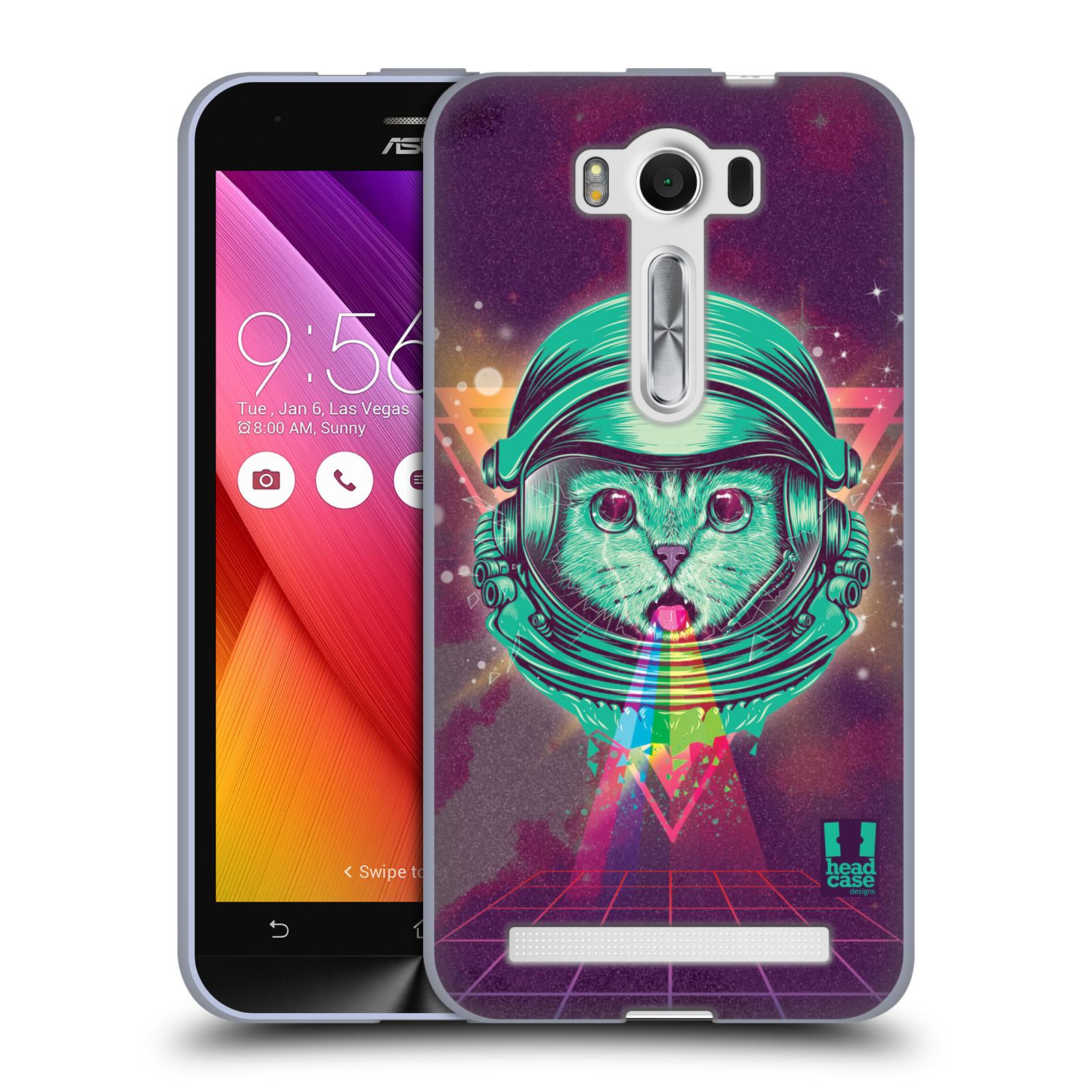 Silikonové pouzdro na mobil Asus ZenFone 2 Laser ZE500KL Head Case - Kóča ve skafandru