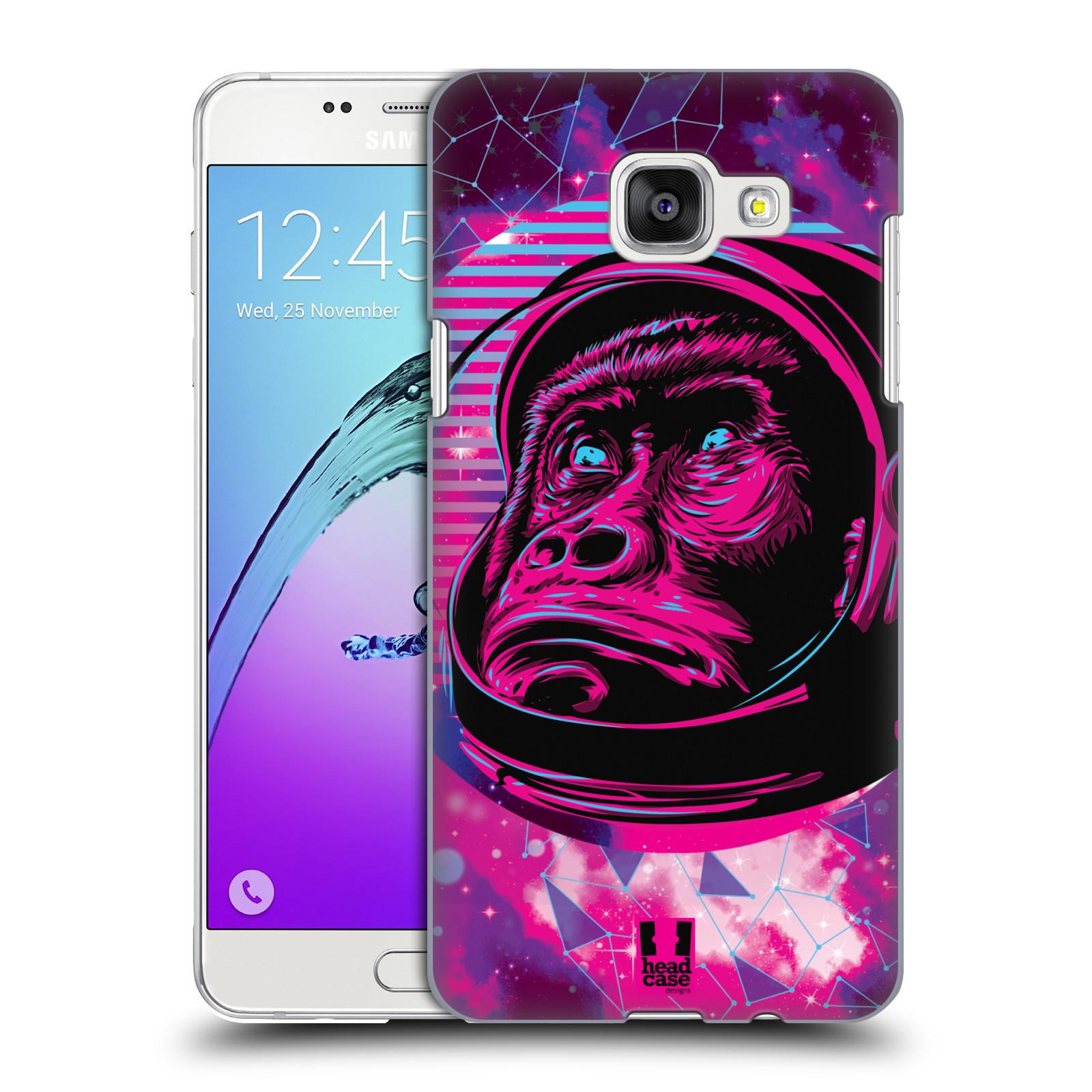 Plastové pouzdro na mobil Samsung Galaxy A5 (2016) Head Case - Gorila ve skafandru