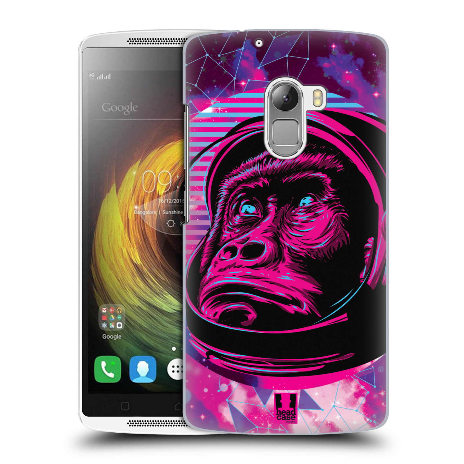 Plastové pouzdro na mobil Lenovo A7010 Head Case - Gorila ve skafandru