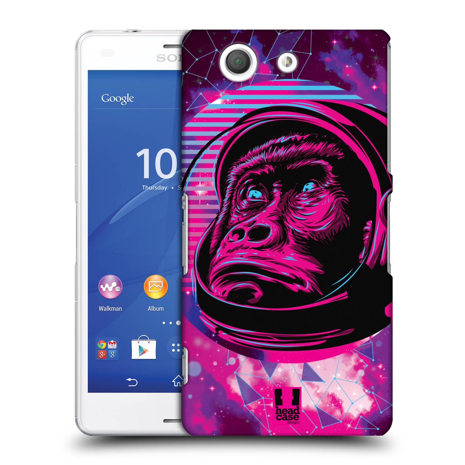 Plastové pouzdro na mobil Sony Xperia Z3 Compact D5803 Head Case - Gorila ve skafandru