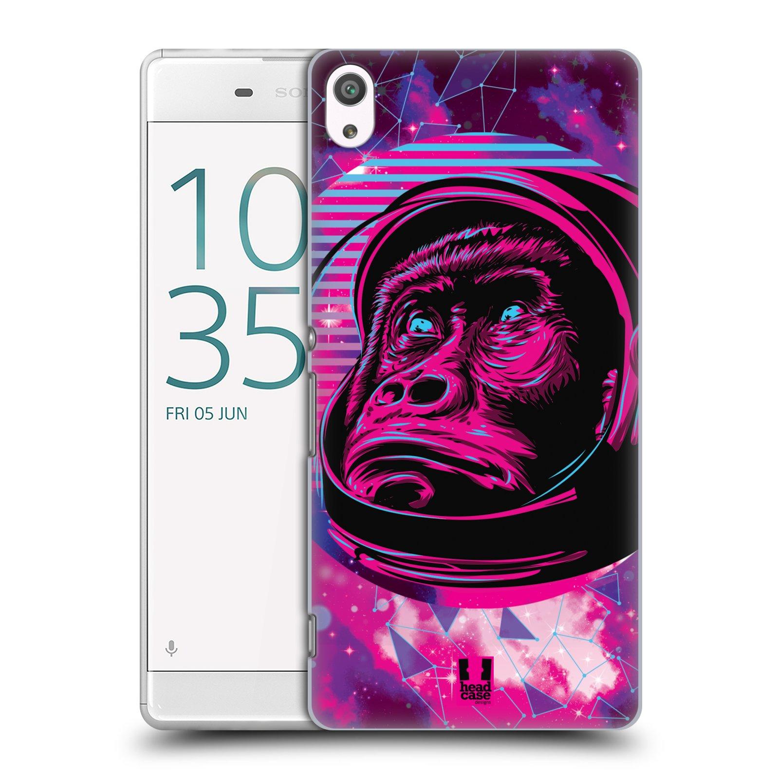 Plastové pouzdro na mobil Sony Xperia XA Ultra Head Case - Gorila ve skafandru