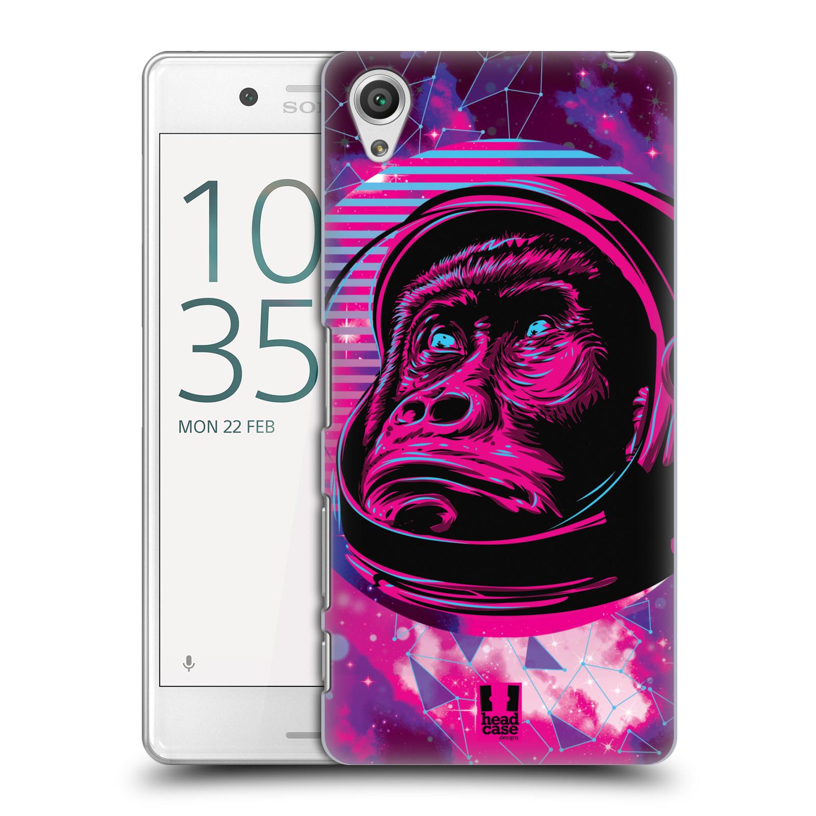 Plastové pouzdro na mobil Sony Xperia X Performance Head Case - Gorila ve skafandru