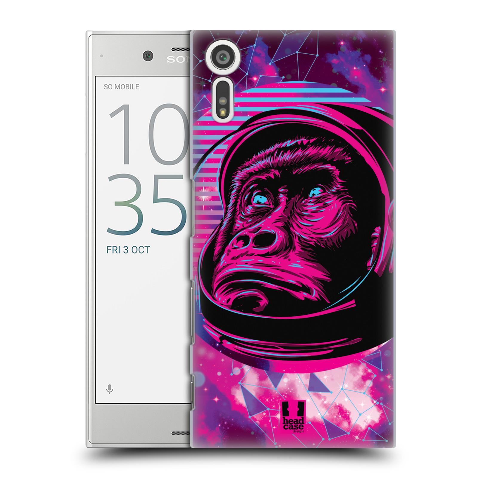 Plastové pouzdro na mobil Sony Xperia XZ - Head Case - Gorila ve skafandru