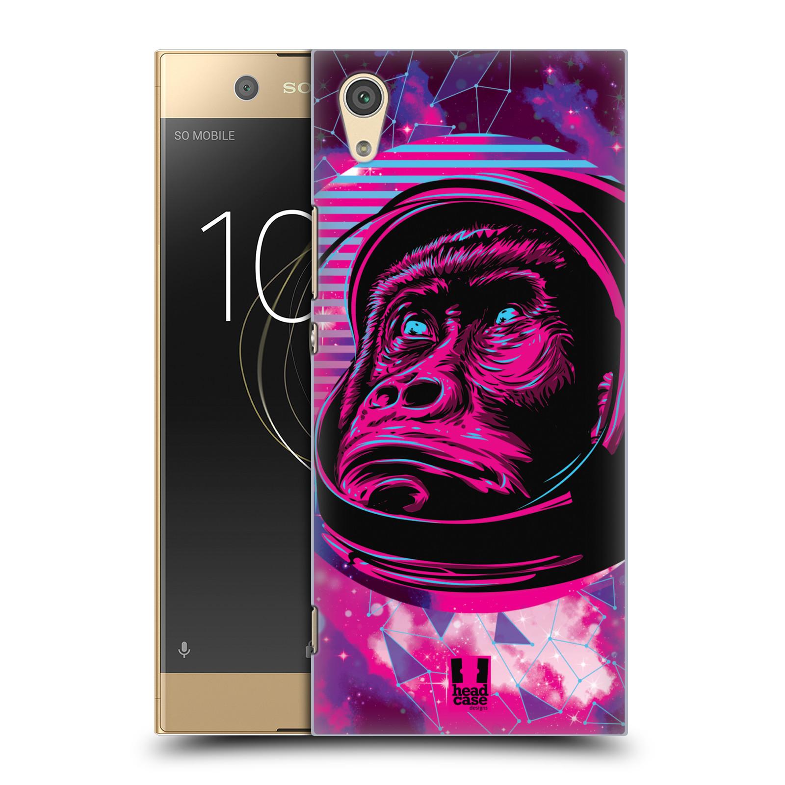 Plastové pouzdro na mobil Sony Xperia XA1 - Head Case - Gorila ve skafandru