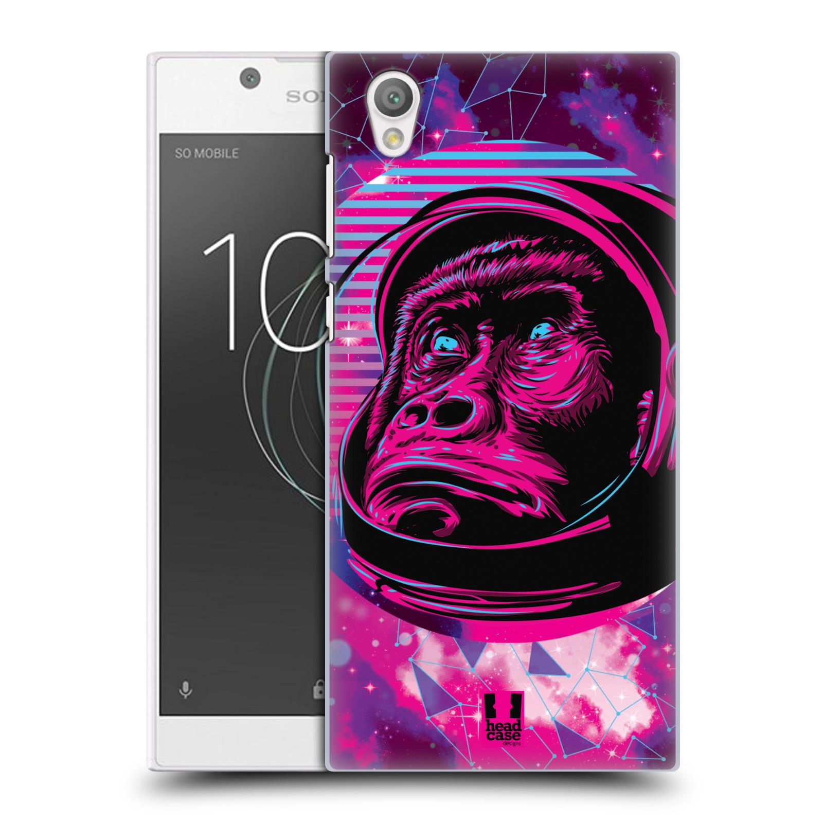 Plastové pouzdro na mobil Sony Xperia L1 - Head Case - Gorila ve skafandru