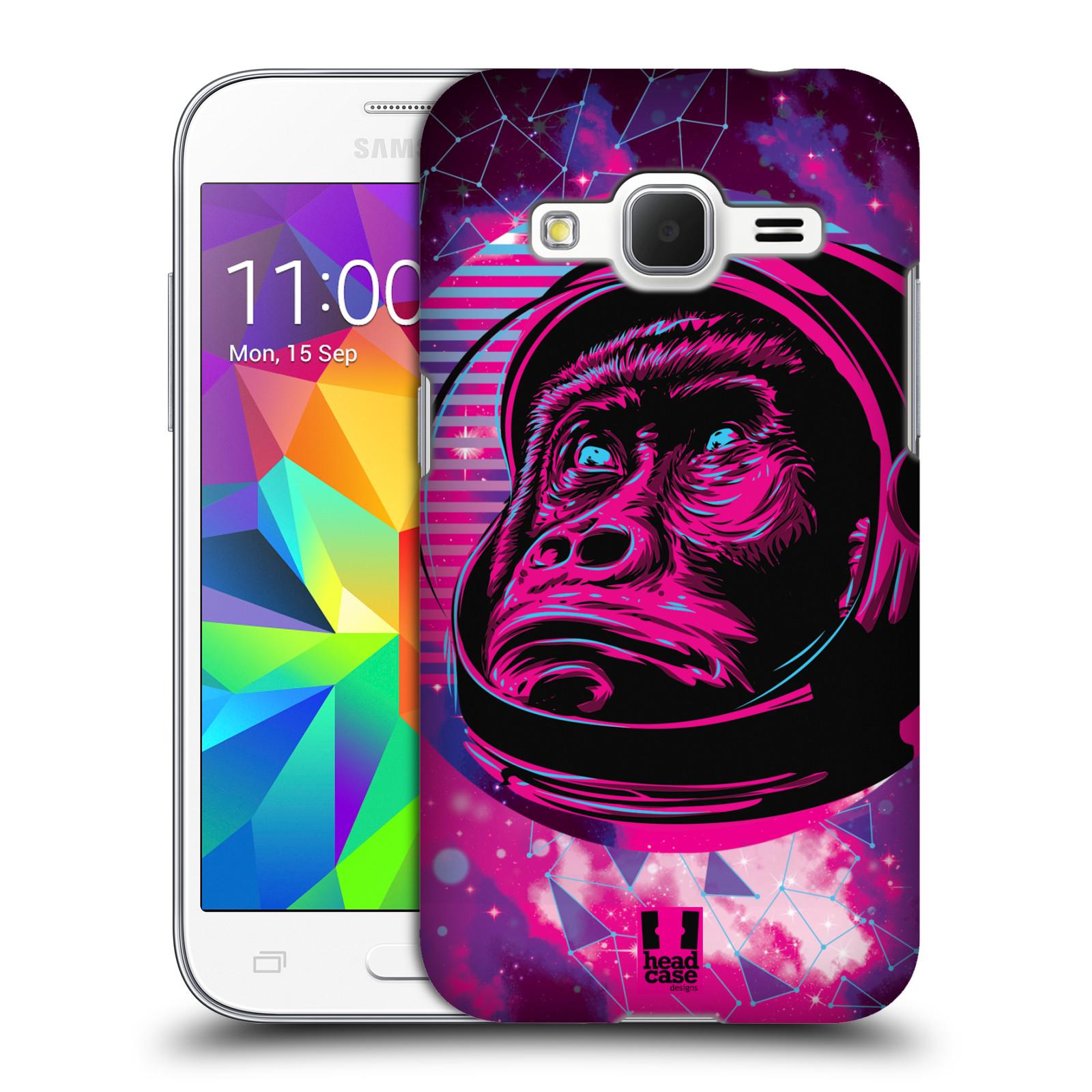 Plastové pouzdro na mobil Samsung Galaxy Core Prime LTE Head Case - Gorila ve skafandru