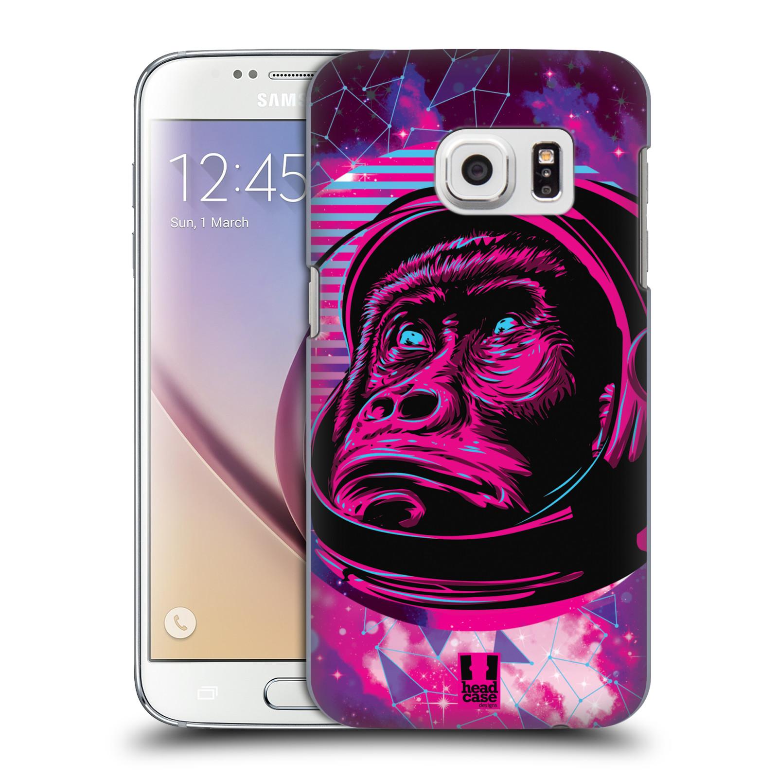 Plastové pouzdro na mobil Samsung Galaxy S7 Head Case - Gorila ve skafandru