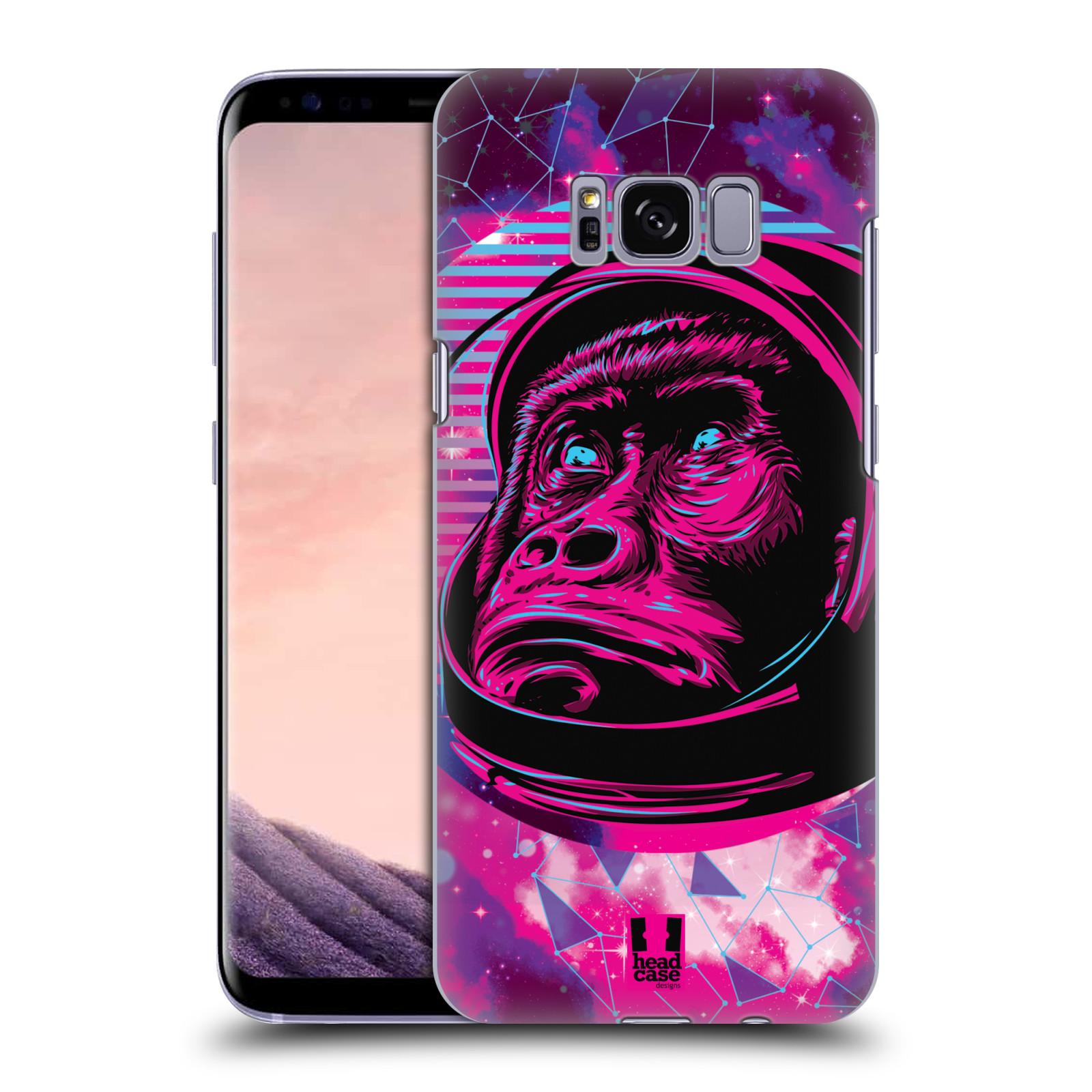 Plastové pouzdro na mobil Samsung Galaxy S8 Head Case - Gorila ve skafandru