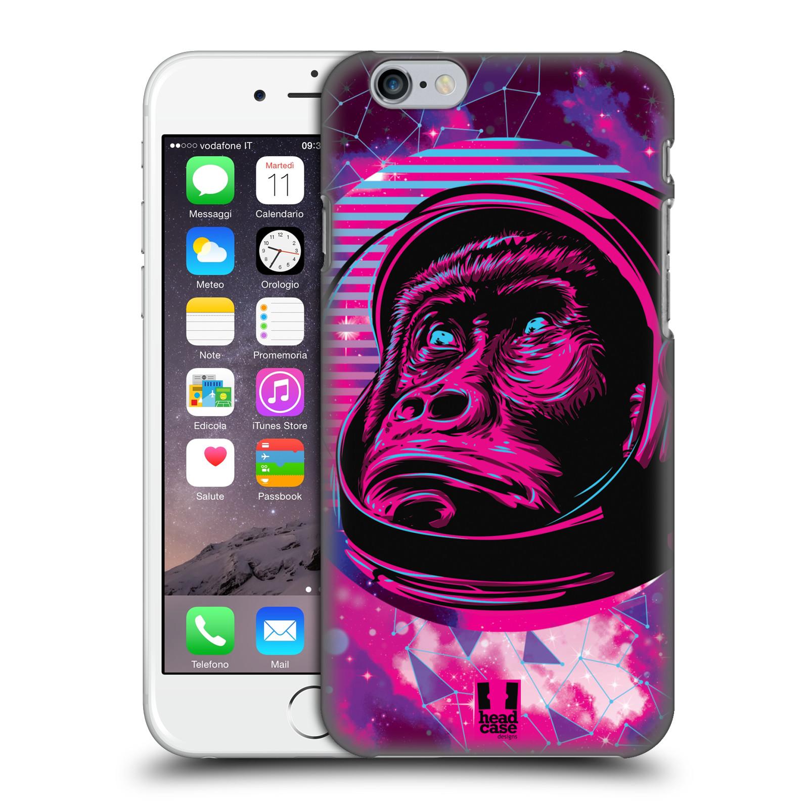 Plastové pouzdro na mobil Apple iPhone 6 Head Case - Gorila ve skafandru