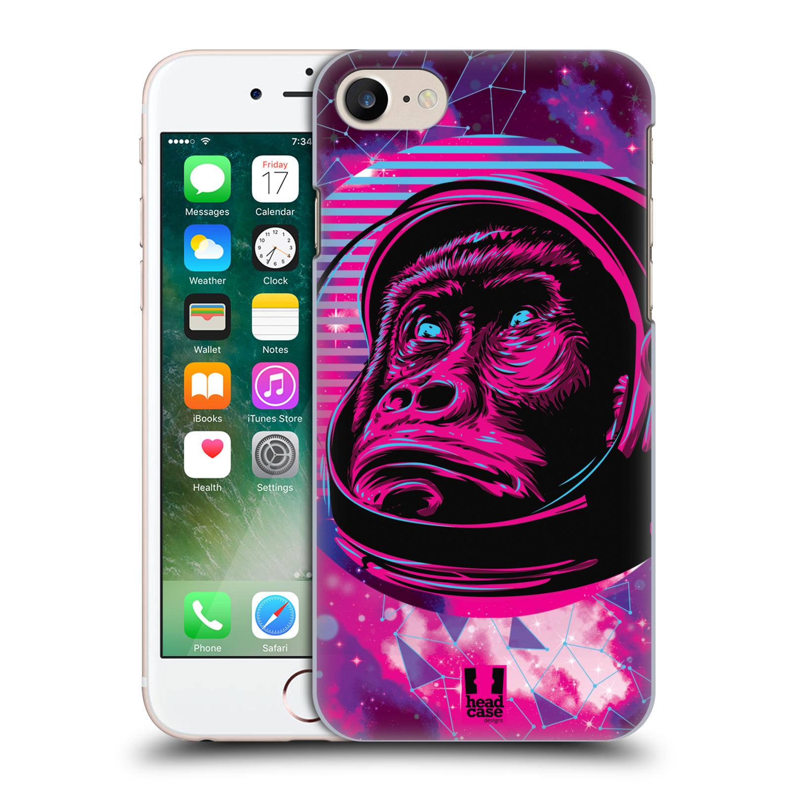 Plastové pouzdro na mobil Apple iPhone 7 Head Case - Gorila ve skafandru