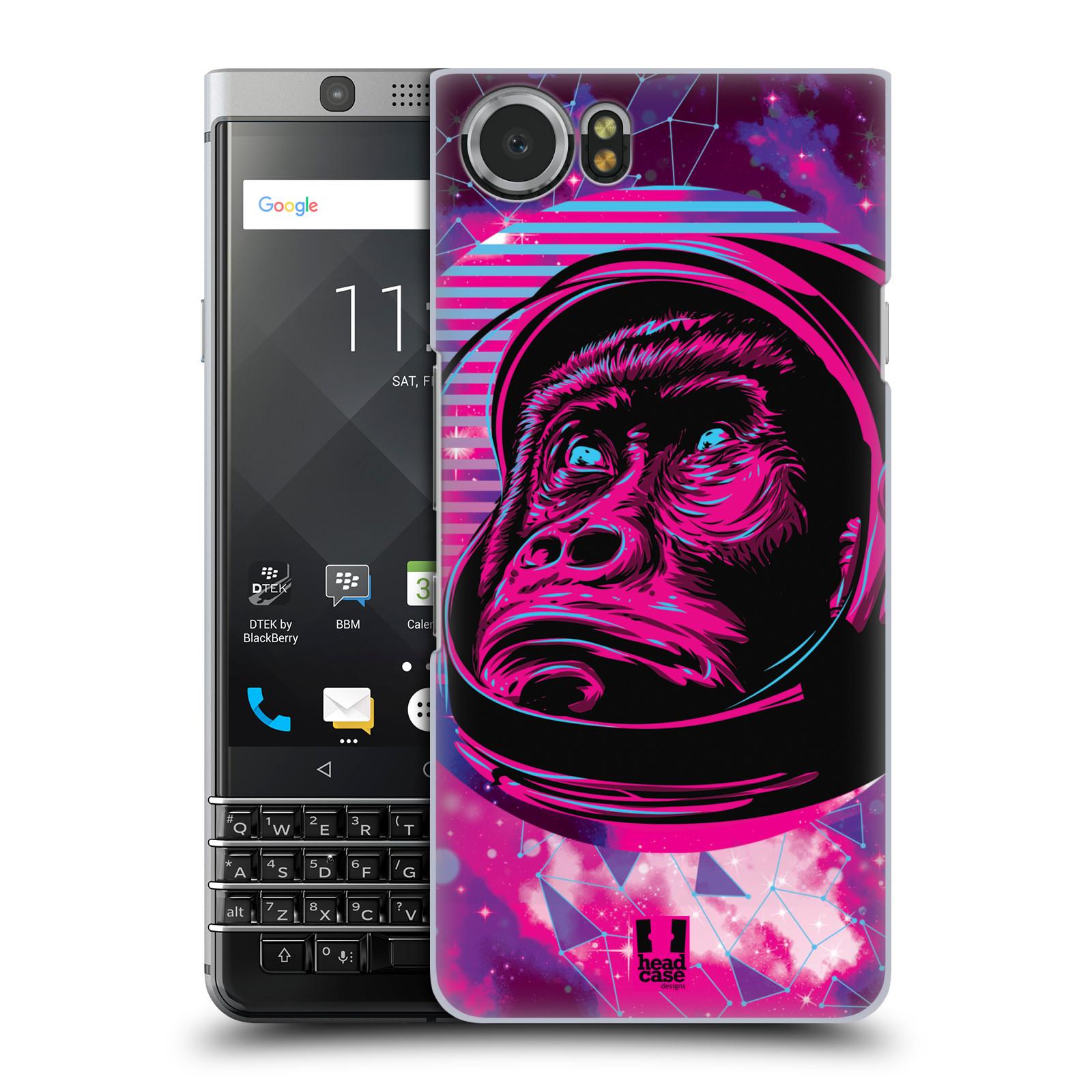 Plastové pouzdro na mobil BlackBerry KEYone - Head Case - Gorila ve skafandru