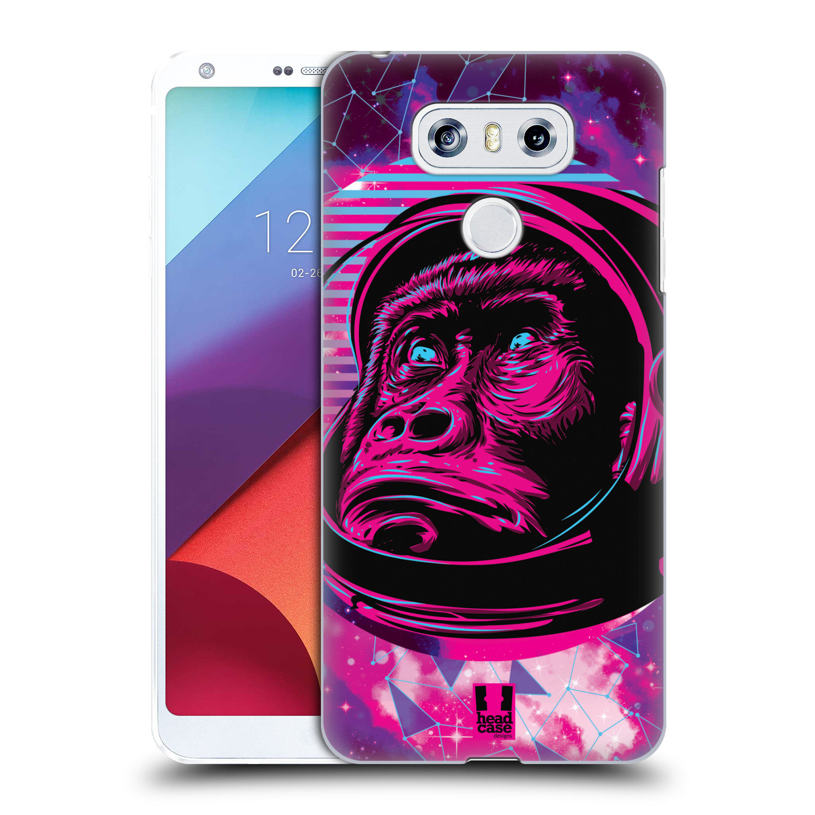 Plastové pouzdro na mobil LG G6 - Head Case - Gorila ve skafandru