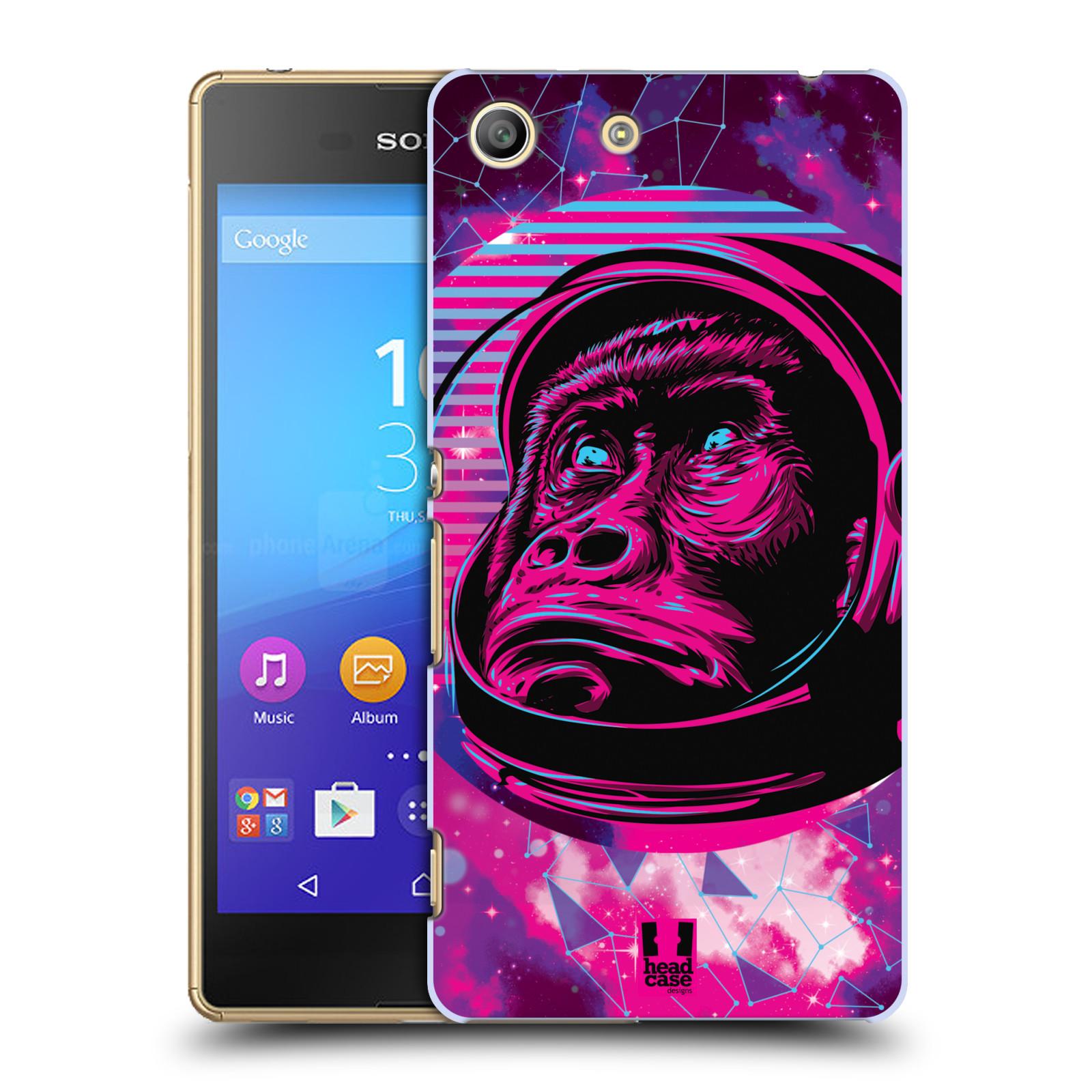 Plastové pouzdro na mobil Sony Xperia M5 Head Case - Gorila ve skafandru