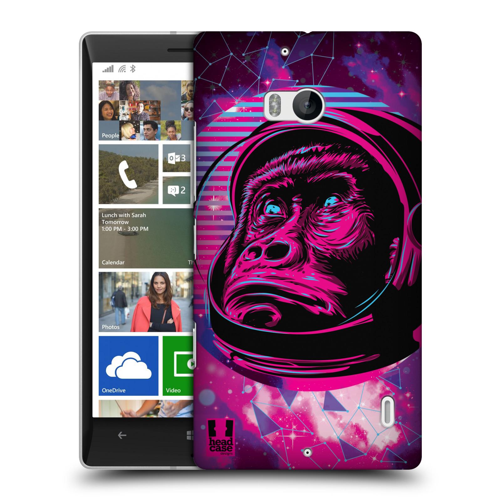 Plastové pouzdro na mobil Nokia Lumia 930 Head Case - Gorila ve skafandru
