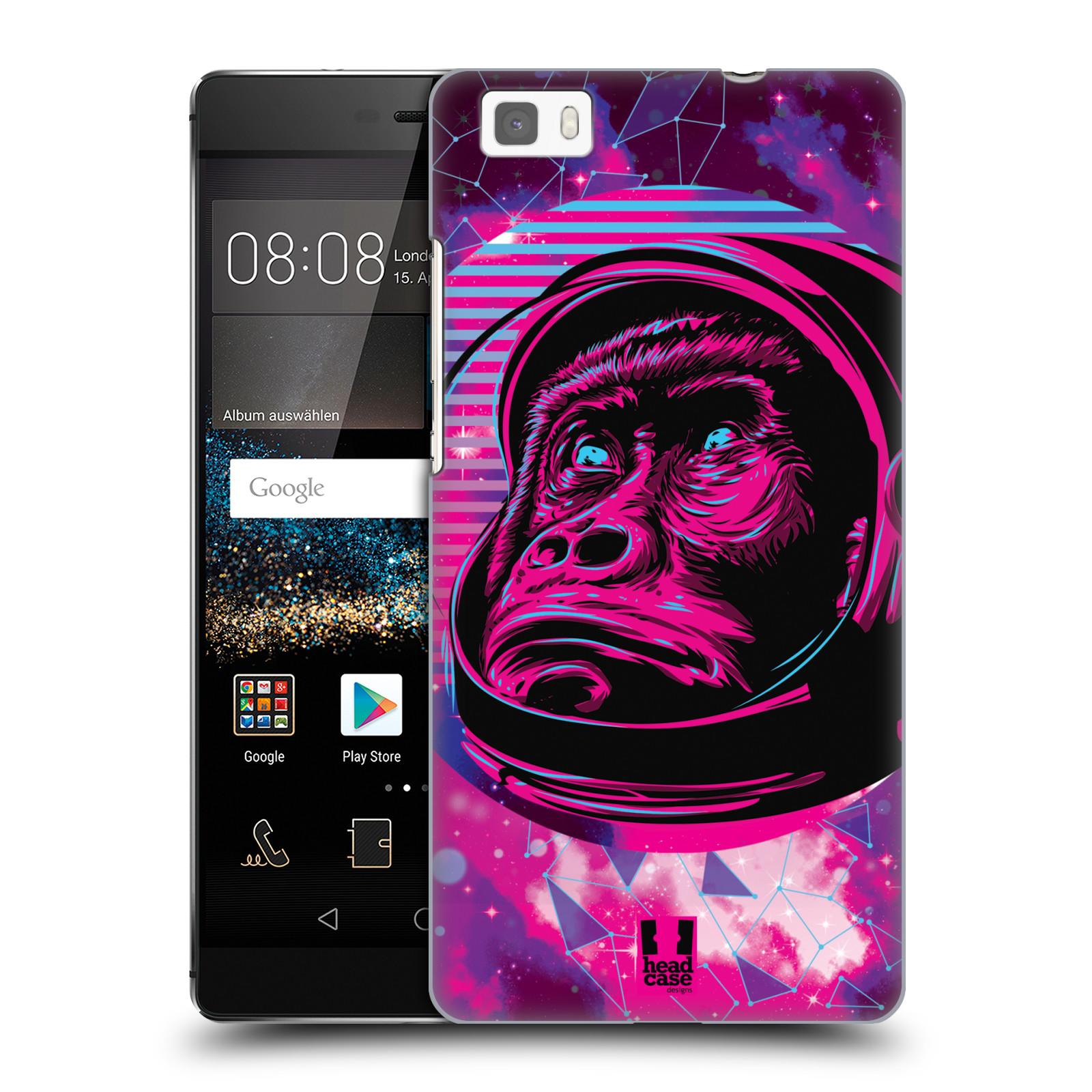Plastové pouzdro na mobil Huawei P8 Lite Head Case - Gorila ve skafandru