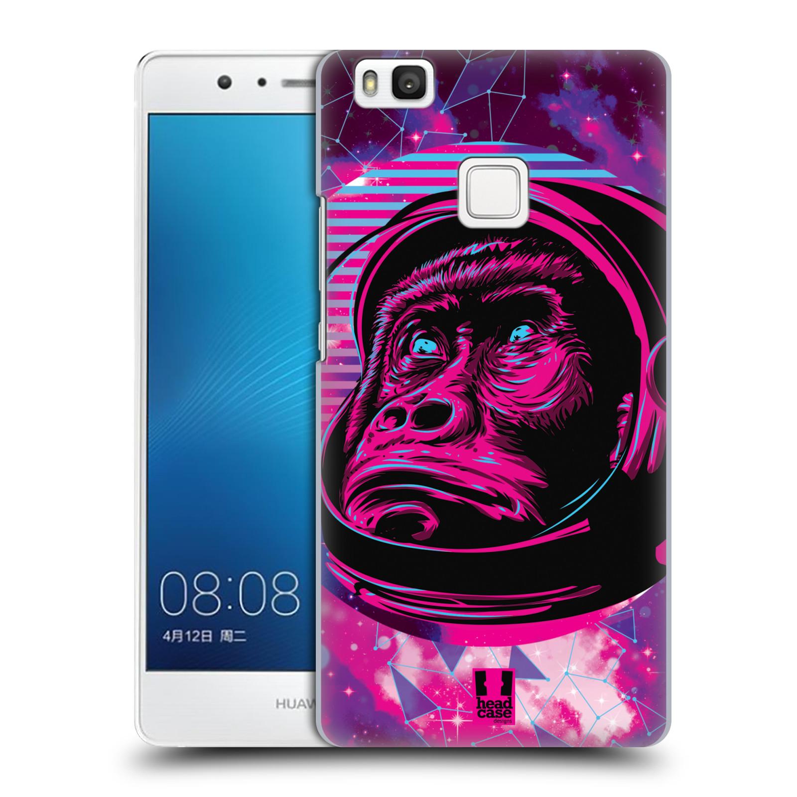 Plastové pouzdro na mobil Huawei P9 Lite Head Case - Gorila ve skafandru