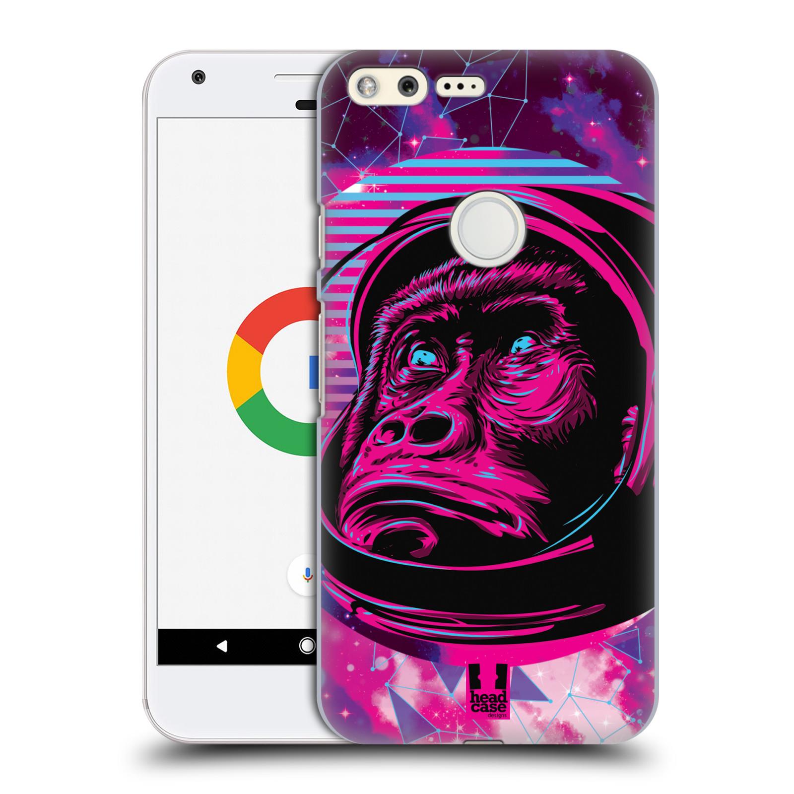Plastové pouzdro na mobil Google Pixel Head Case - Gorila ve skafandru