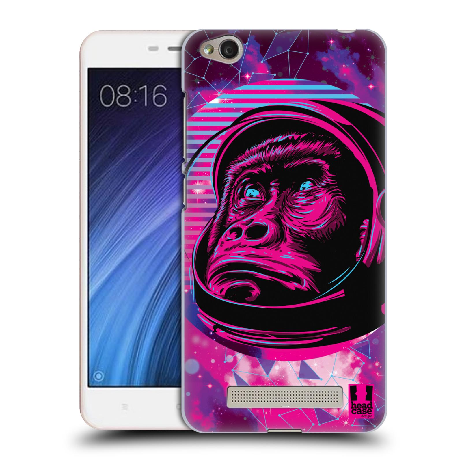 Plastové pouzdro na mobil Xiaomi Redmi 4A Head Case - Gorila ve skafandru