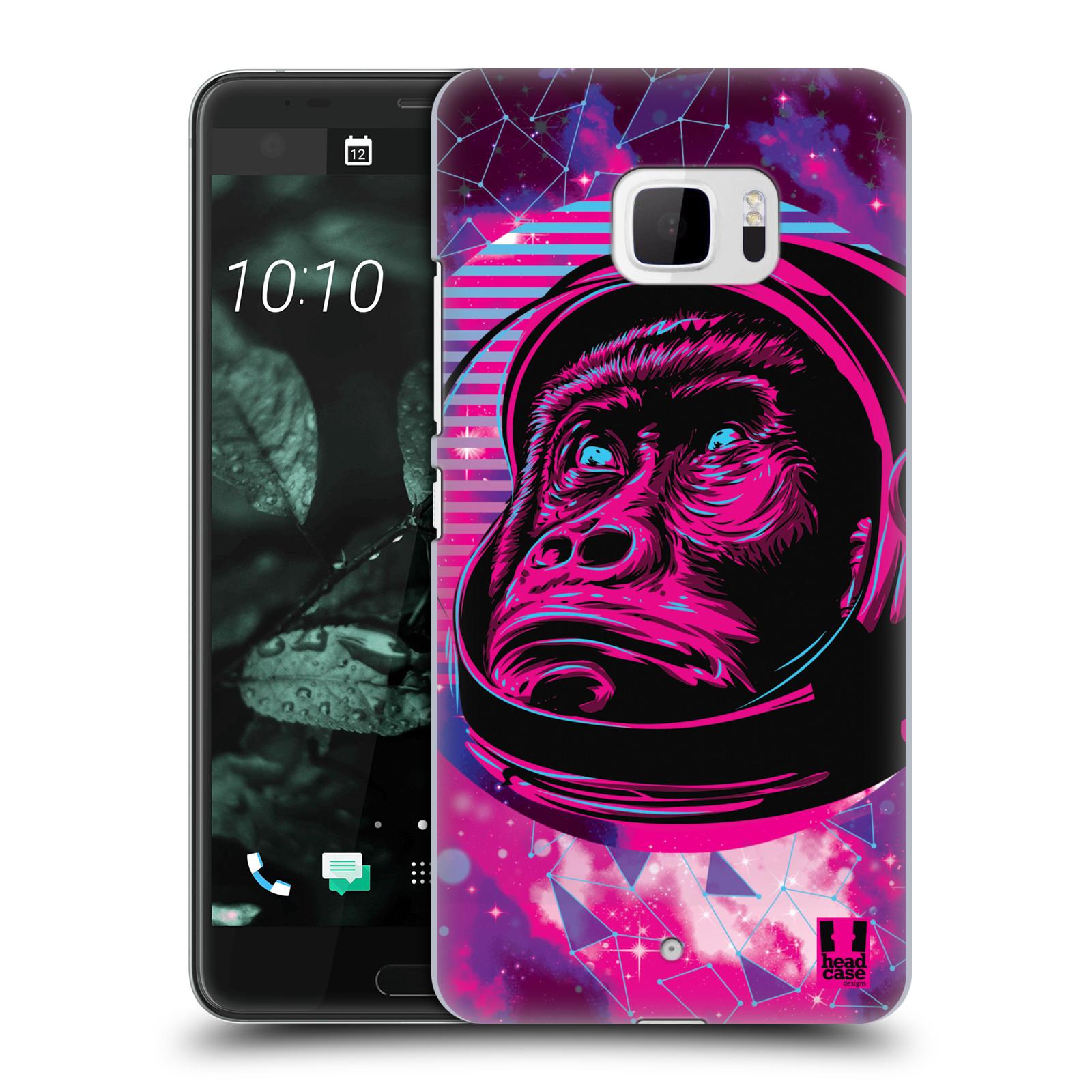 Plastové pouzdro na mobil HTC U Ultra Head Case - Gorila ve skafandru