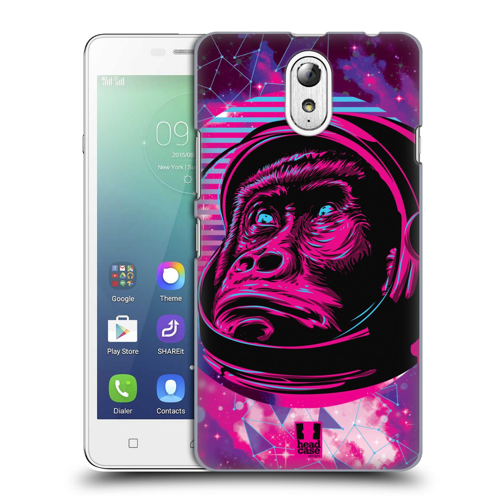 Plastové pouzdro na mobil Lenovo Vibe P1m Head Case - Gorila ve skafandru