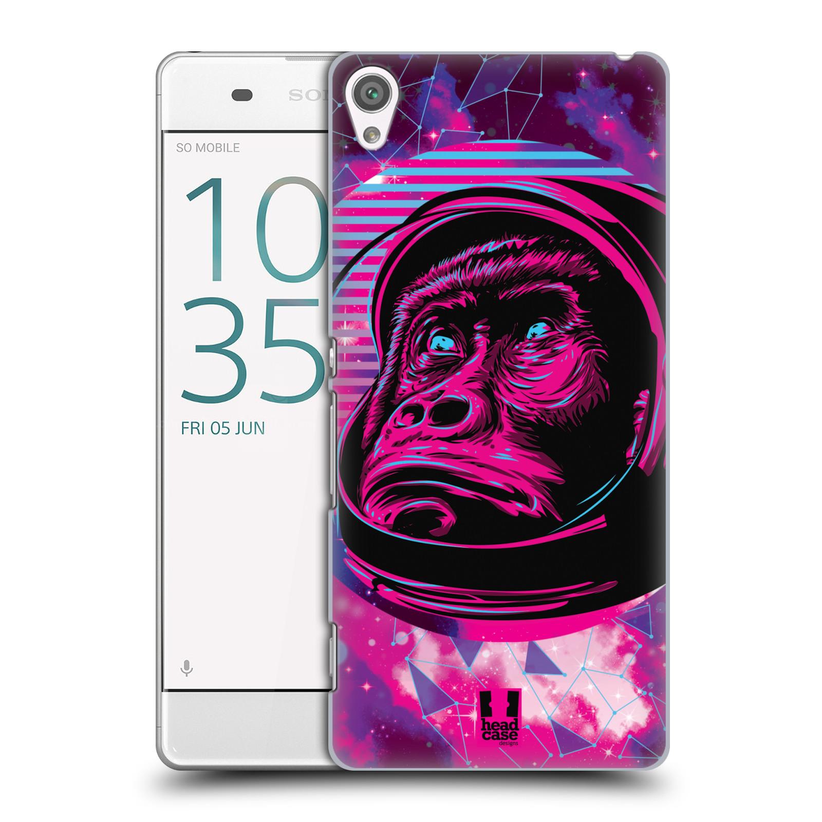 Plastové pouzdro na mobil Sony Xperia XA Head Case - Gorila ve skafandru