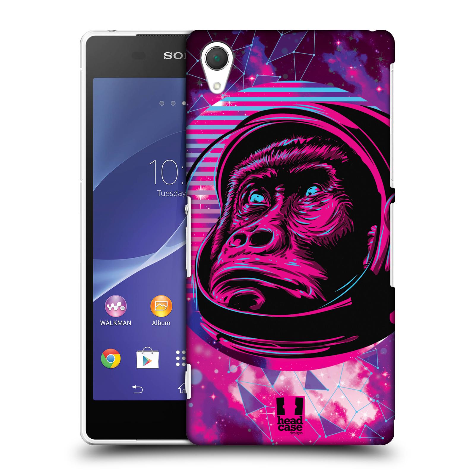 Plastové pouzdro na mobil Sony Xperia Z2 D6503 Head Case - Gorila ve skafandru