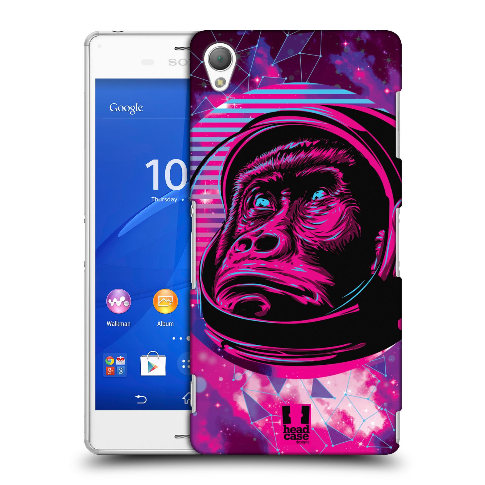 Plastové pouzdro na mobil Sony Xperia Z3 D6603 Head Case - Gorila ve skafandru