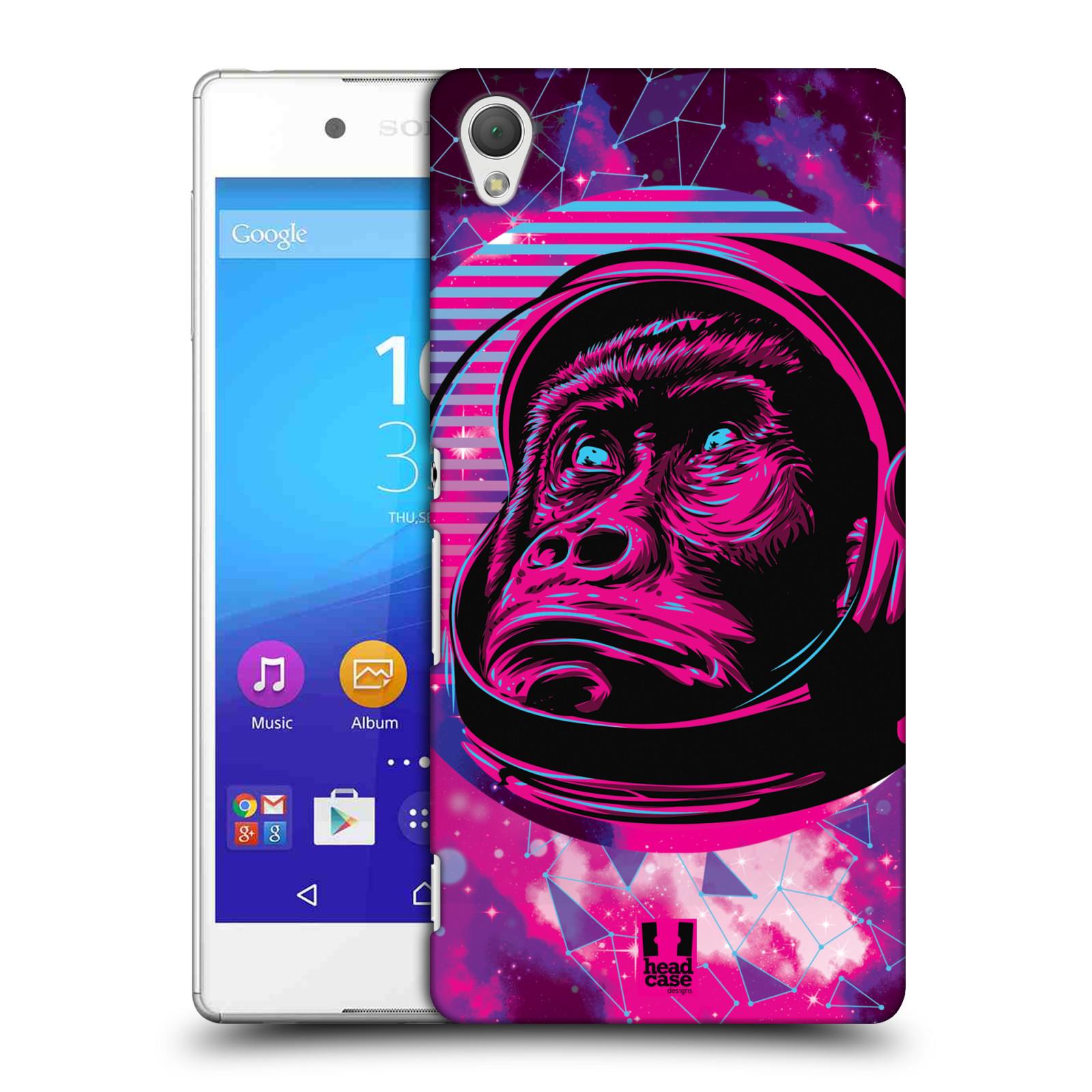 Plastové pouzdro na mobil Sony Xperia Z3+ (Plus) Head Case - Gorila ve skafandru