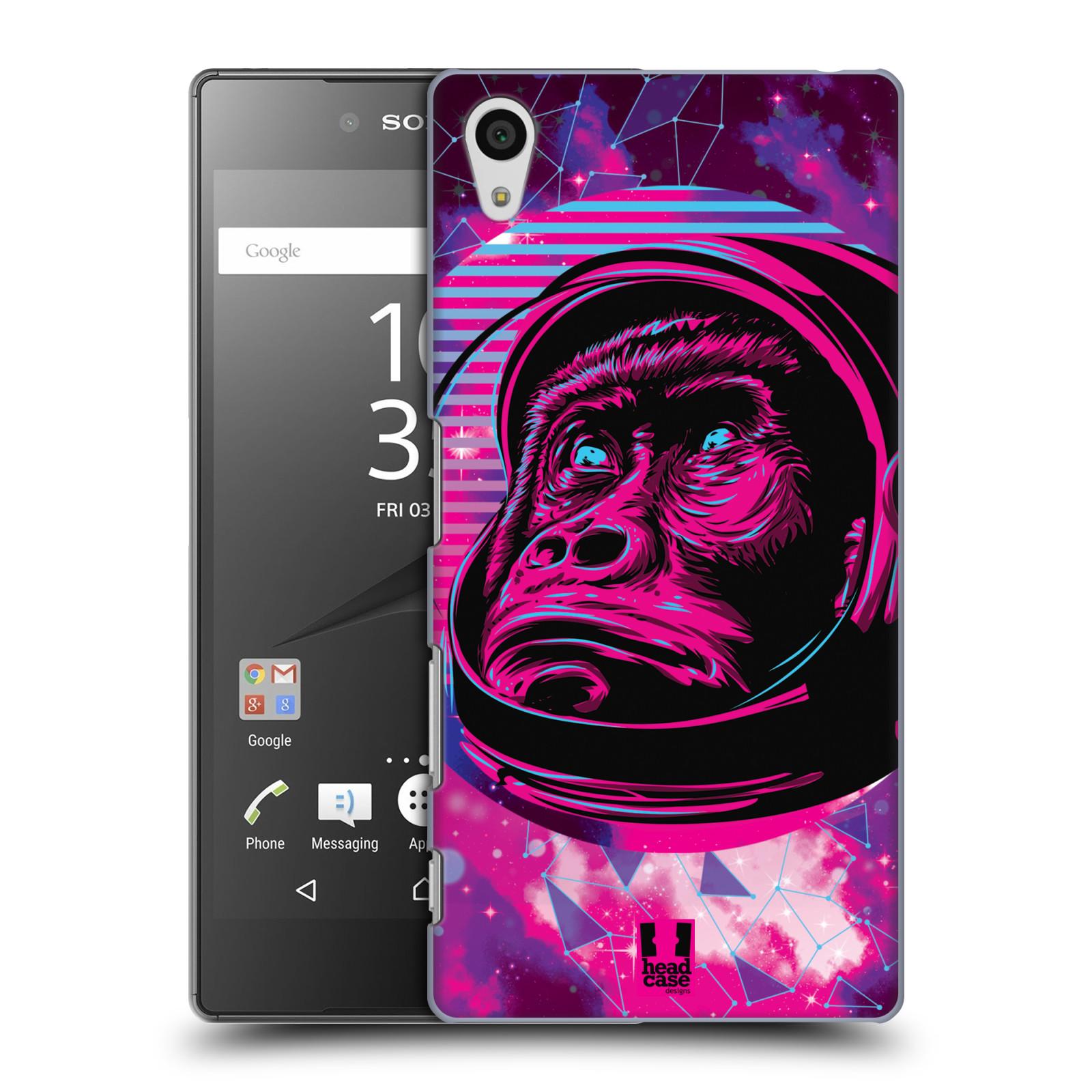 Plastové pouzdro na mobil Sony Xperia Z5 Head Case - Gorila ve skafandru