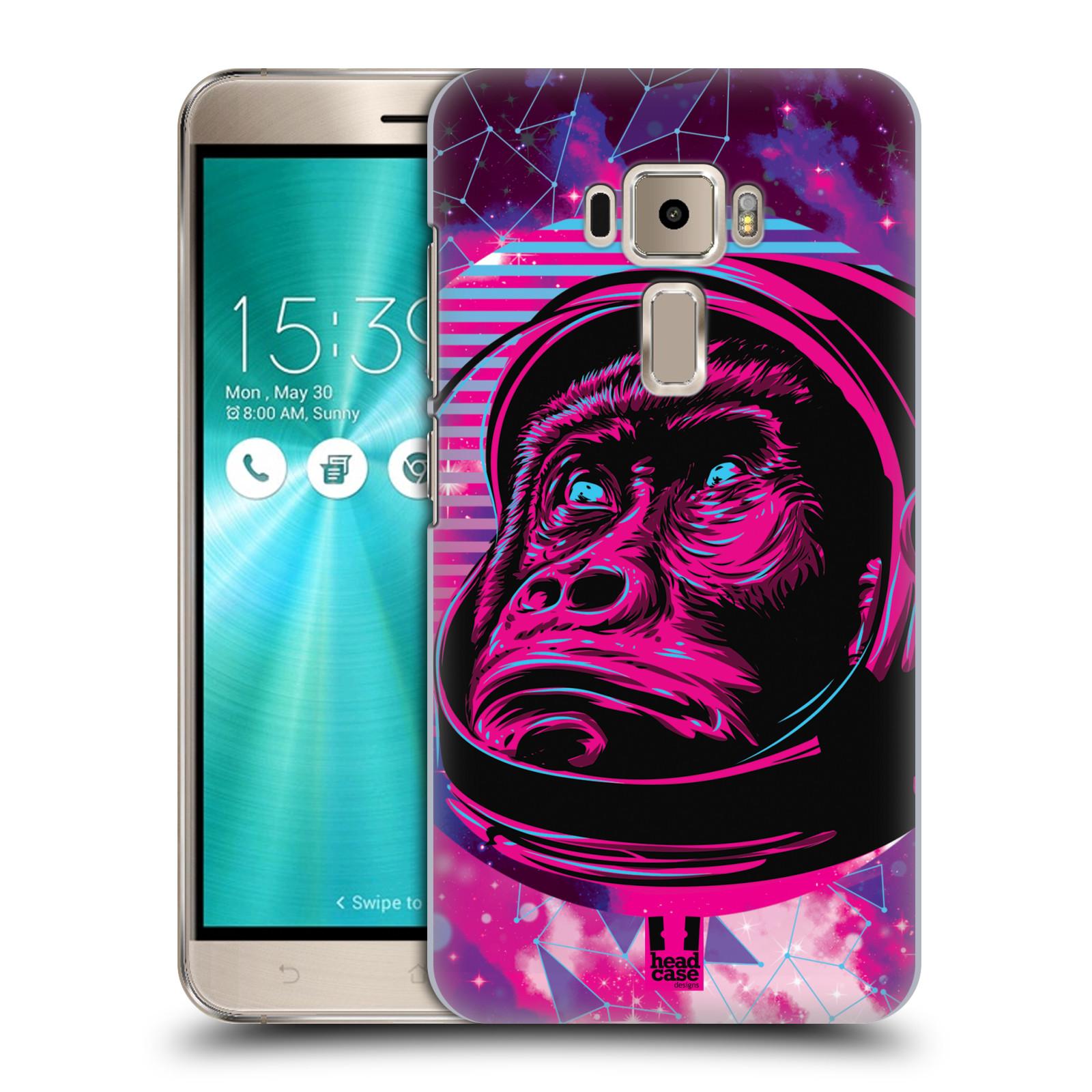 Plastové pouzdro na mobil Asus ZenFone 3 ZE520KL Head Case - Gorila ve skafandru
