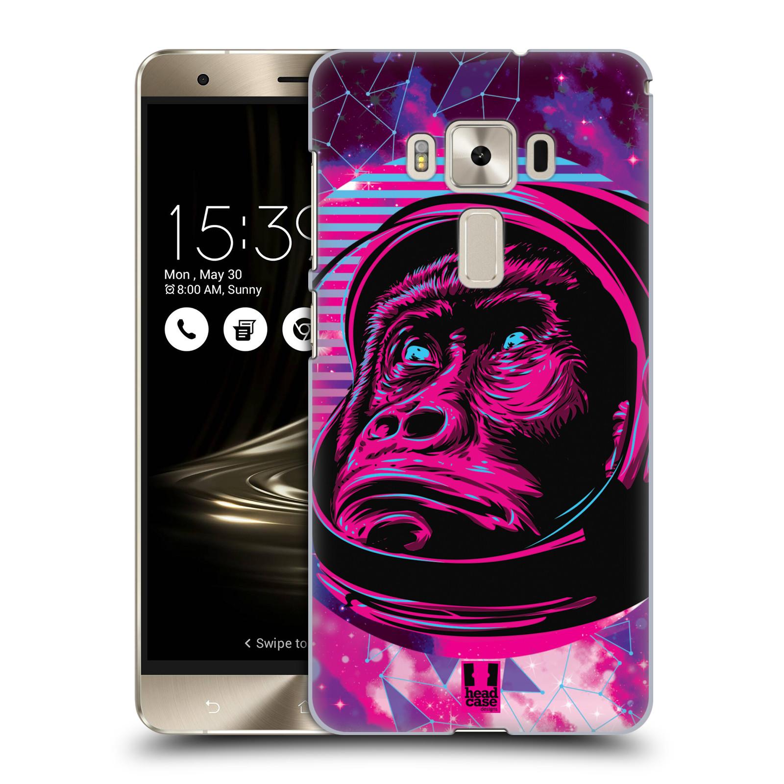 Plastové pouzdro na mobil Asus ZenFone 3 Deluxe ZS570KL Head Case - Gorila ve skafandru
