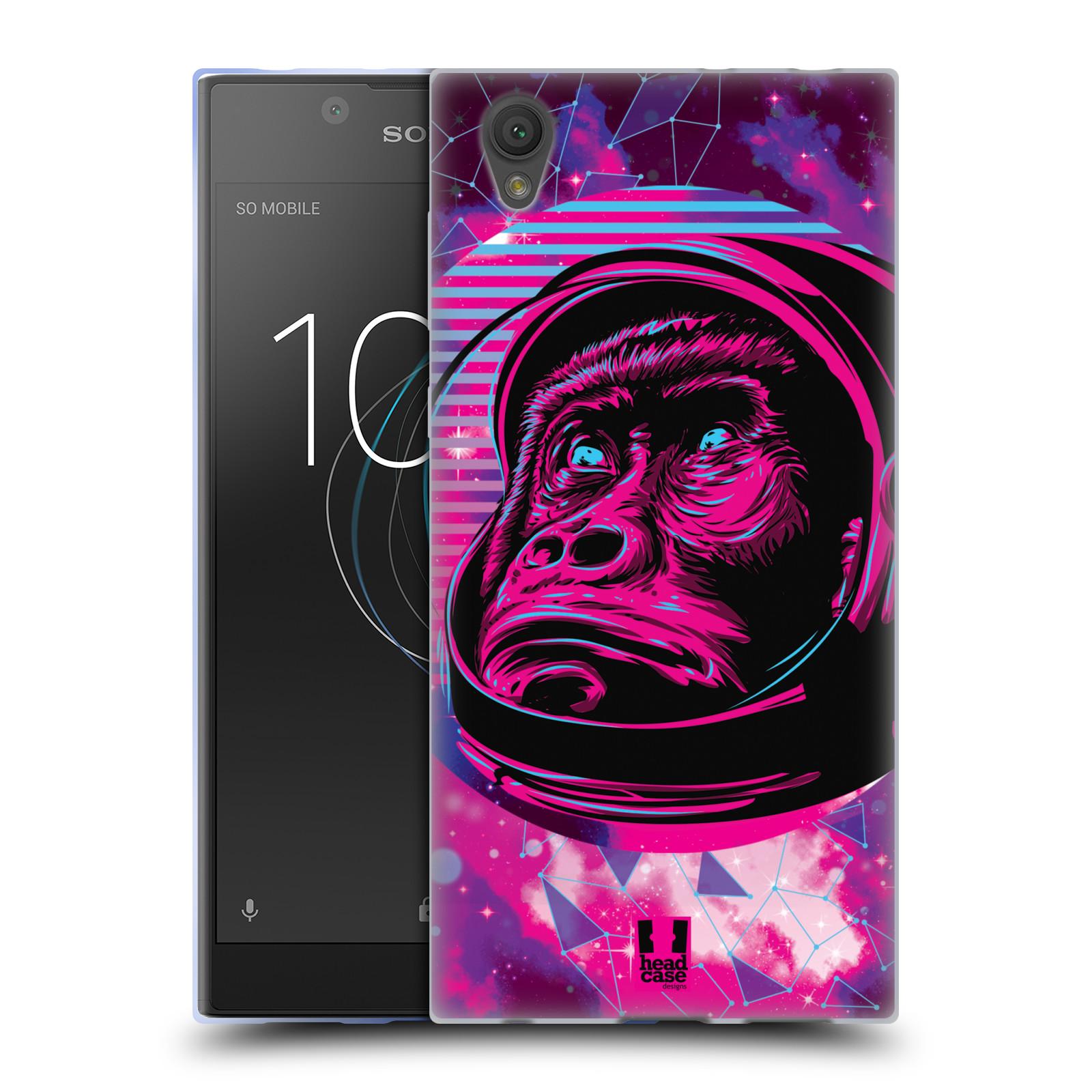 Silikonové pouzdro na mobil Sony Xperia L1 - Head Case - Gorila ve skafandru