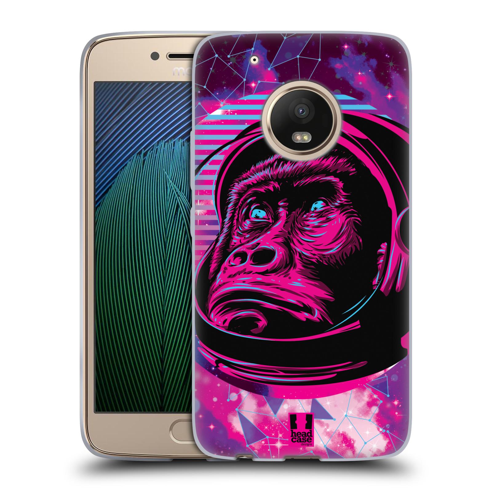 Silikonové pouzdro na mobil Lenovo Moto G5 Plus - Head Case - Gorila ve skafandru