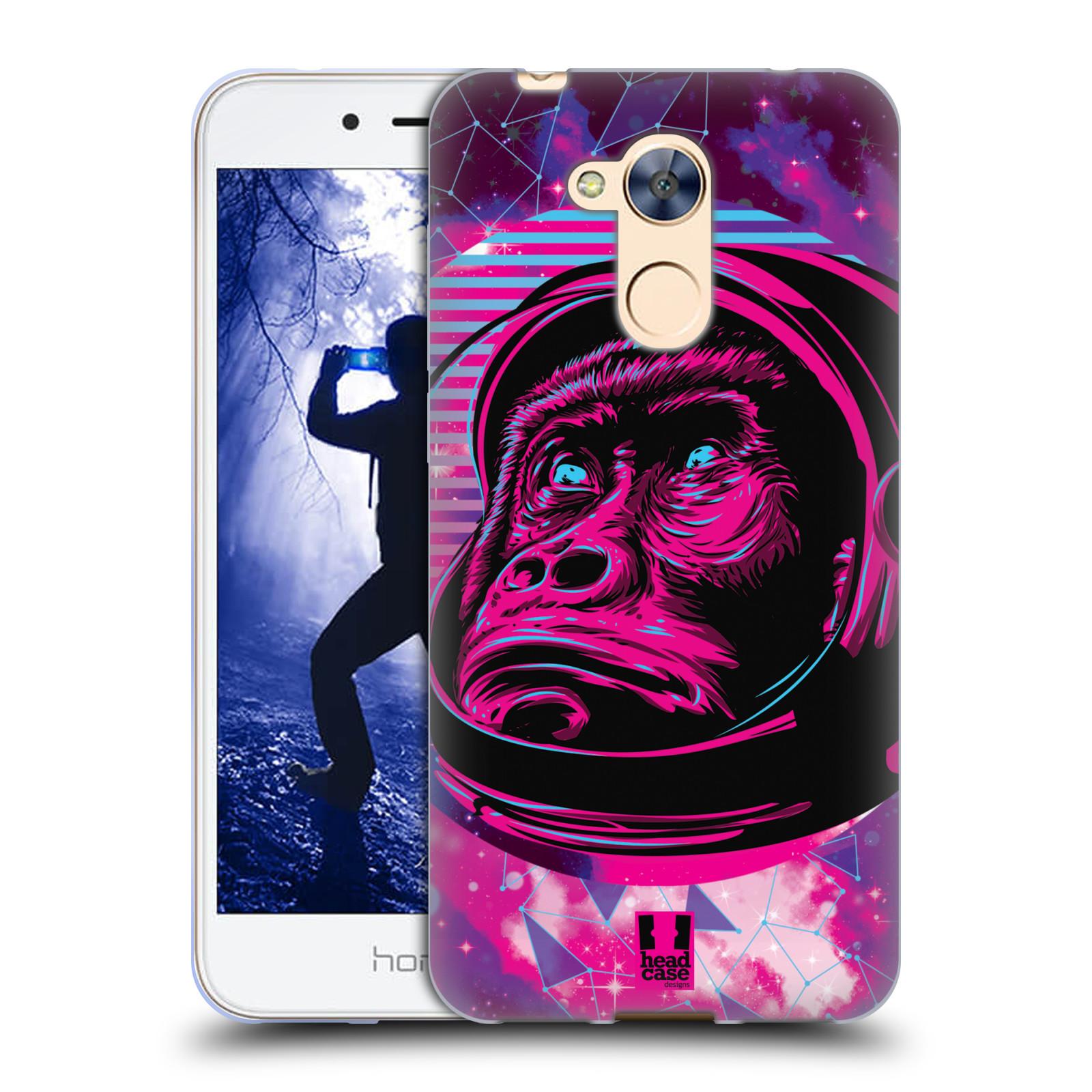 Silikonové pouzdro na mobil Honor 6A - Head Case - Gorila ve skafandru