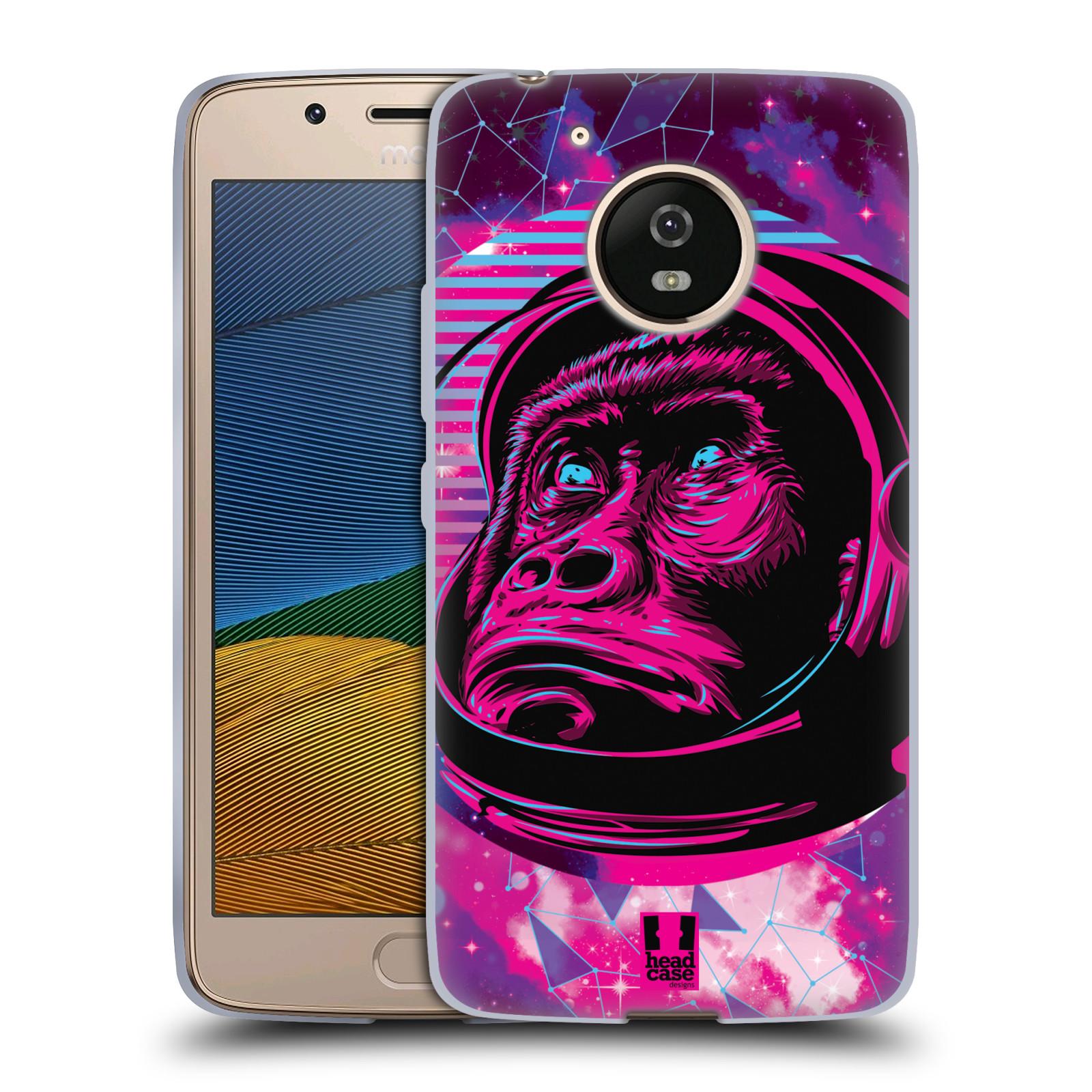 Silikonové pouzdro na mobil Lenovo Moto G5 - Head Case - Gorila ve skafandru