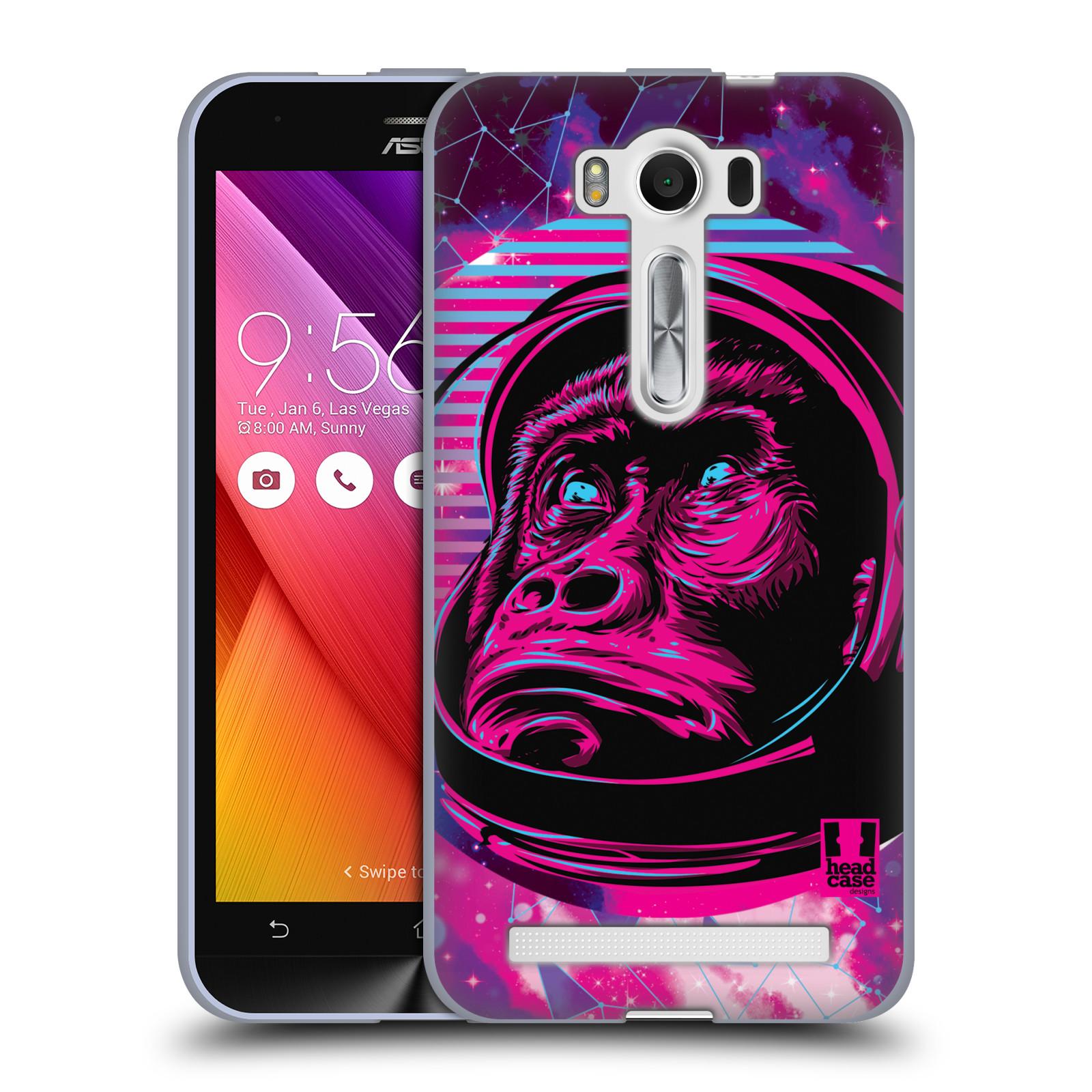 Silikonové pouzdro na mobil Asus ZenFone 2 Laser ZE500KL Head Case - Gorila ve skafandru