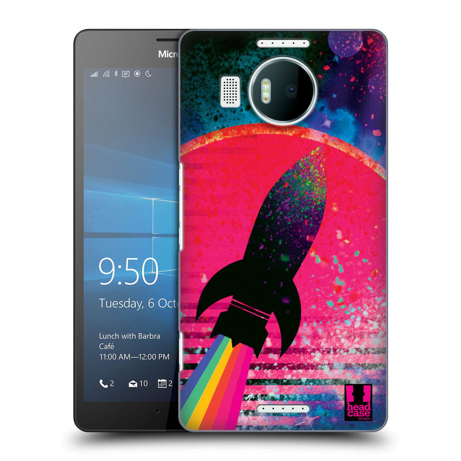 Plastové pouzdro na mobil Microsoft Lumia 950 XL Head Case - Raketka