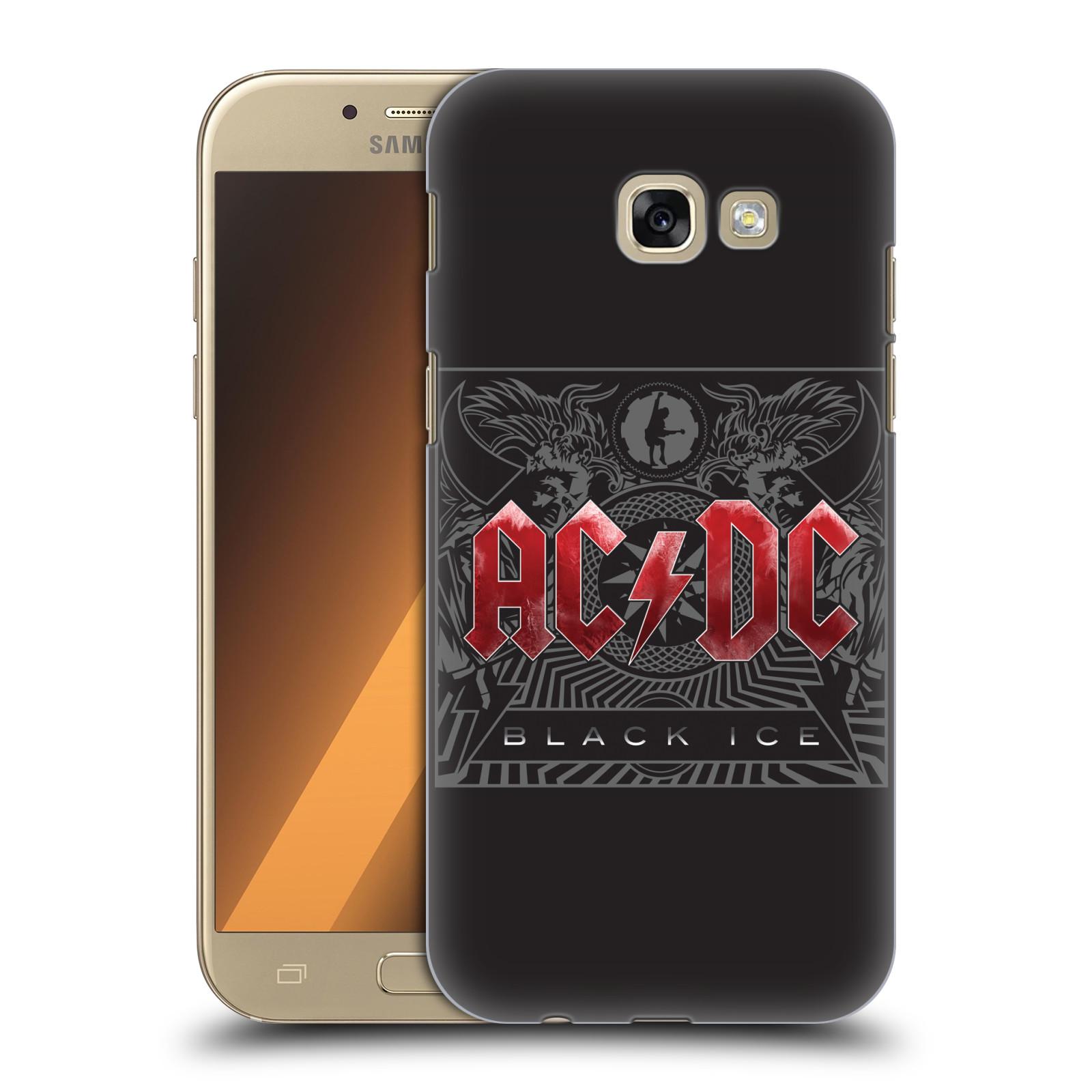 Plastové pouzdro na mobil Samsung Galaxy A5 (2017) HEAD CASE AC/DC Black Ice