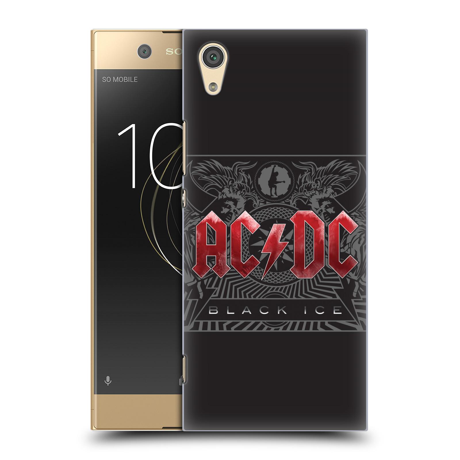 Plastové pouzdro na mobil Sony Xperia XA1 - Head Case - AC/DC Black Ice