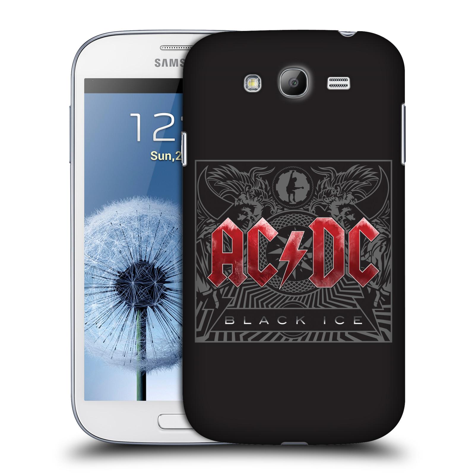 Plastové pouzdro na mobil Samsung Galaxy Grand Neo HEAD CASE AC/DC Black Ice