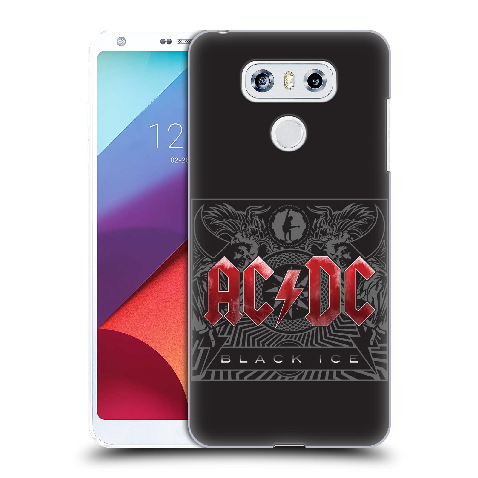 Plastové pouzdro na mobil LG G6 - Head Case AC/DC Black Ice