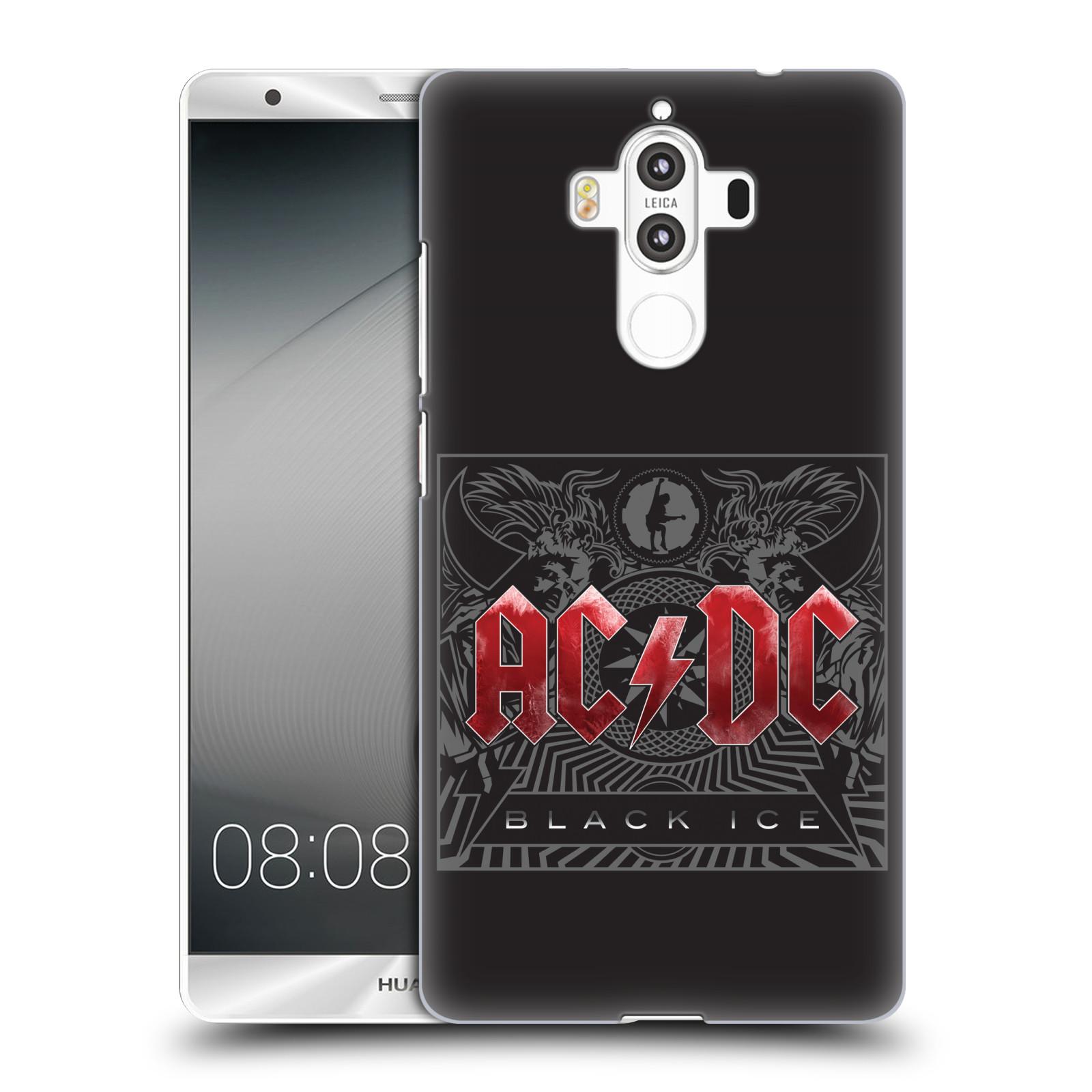 Plastové pouzdro na mobil Huawei Mate 9 - Head Case AC/DC Black Ice (Plastový kryt či obal na mobilní telefon s oficiálním motivem australské skupiny AC/DC pro Huawei Mate 9 (Dual SIM))