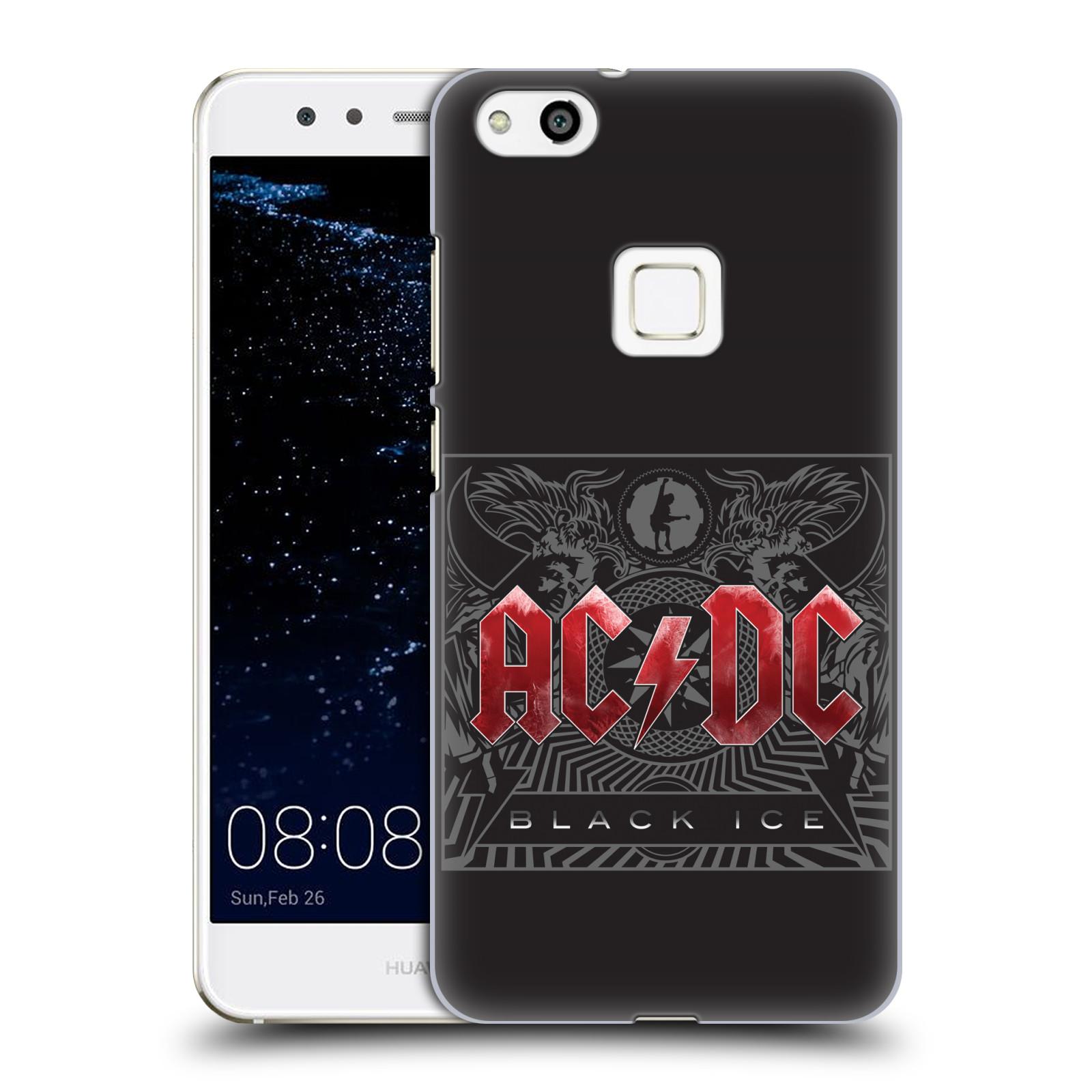 Plastové pouzdro na mobil Huawei P10 Lite Head Case - AC/DC Black Ice