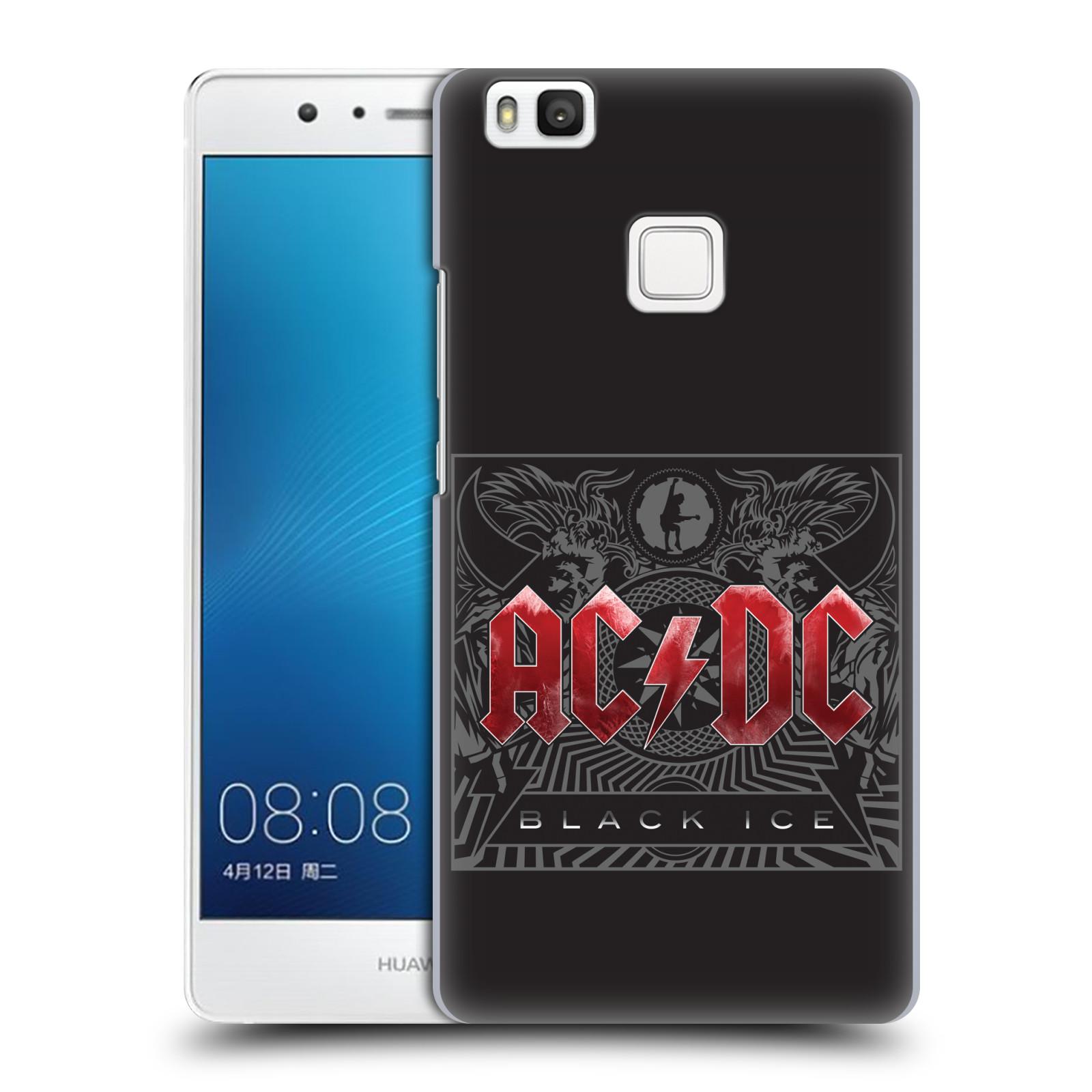 Plastové pouzdro na mobil Huawei P9 Lite HEAD CASE AC/DC Black Ice