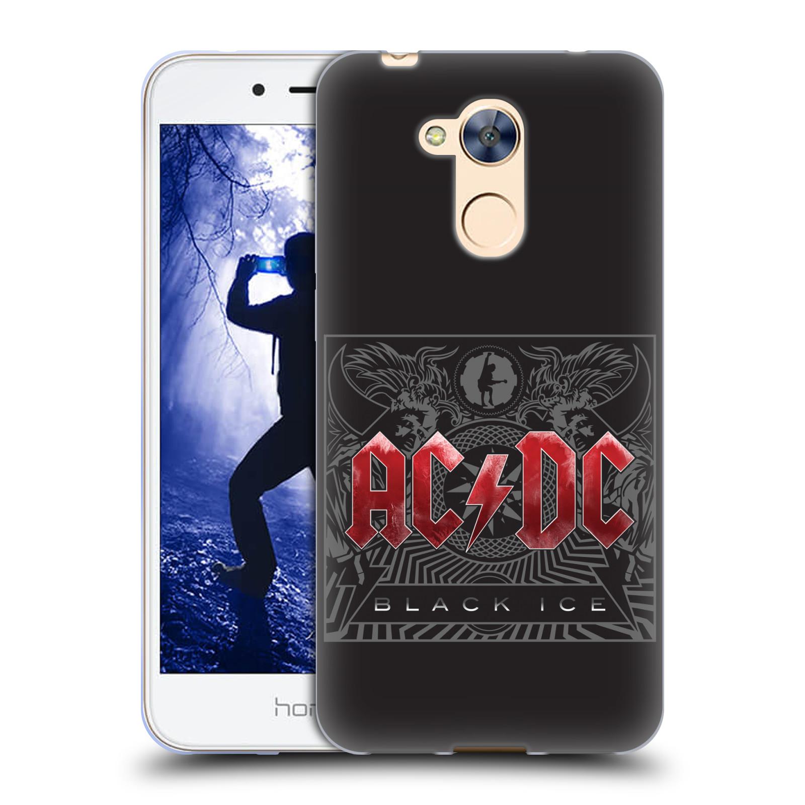 Silikonové pouzdro na mobil Honor 6A - Head Case - AC/DC Black Ice