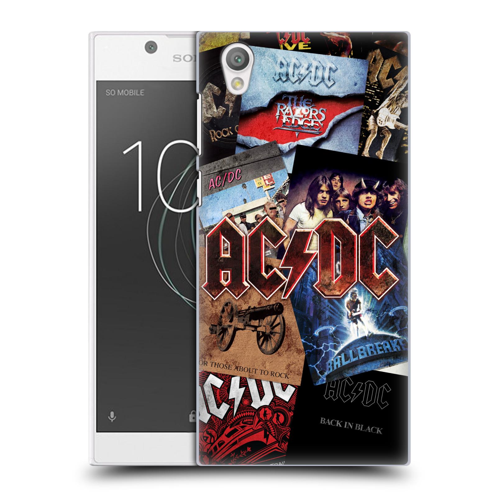 Plastové pouzdro na mobil Sony Xperia L1 - Head Case - AC/DC Koláž desek