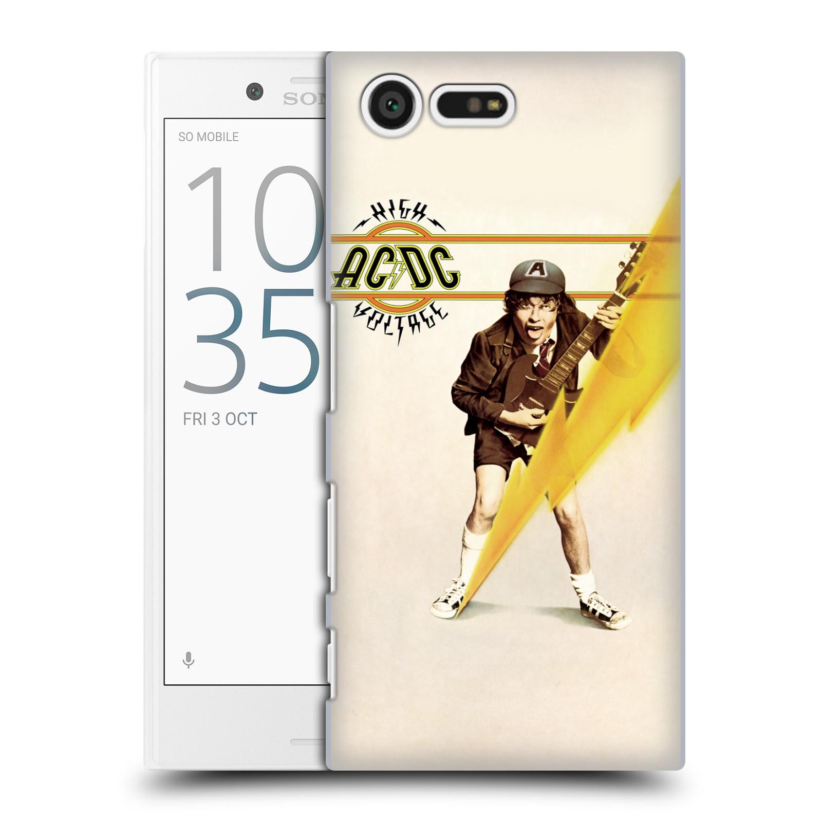 Plastové pouzdro na mobil Sony Xperia X Compact HEAD CASE AC/DC High Voltage